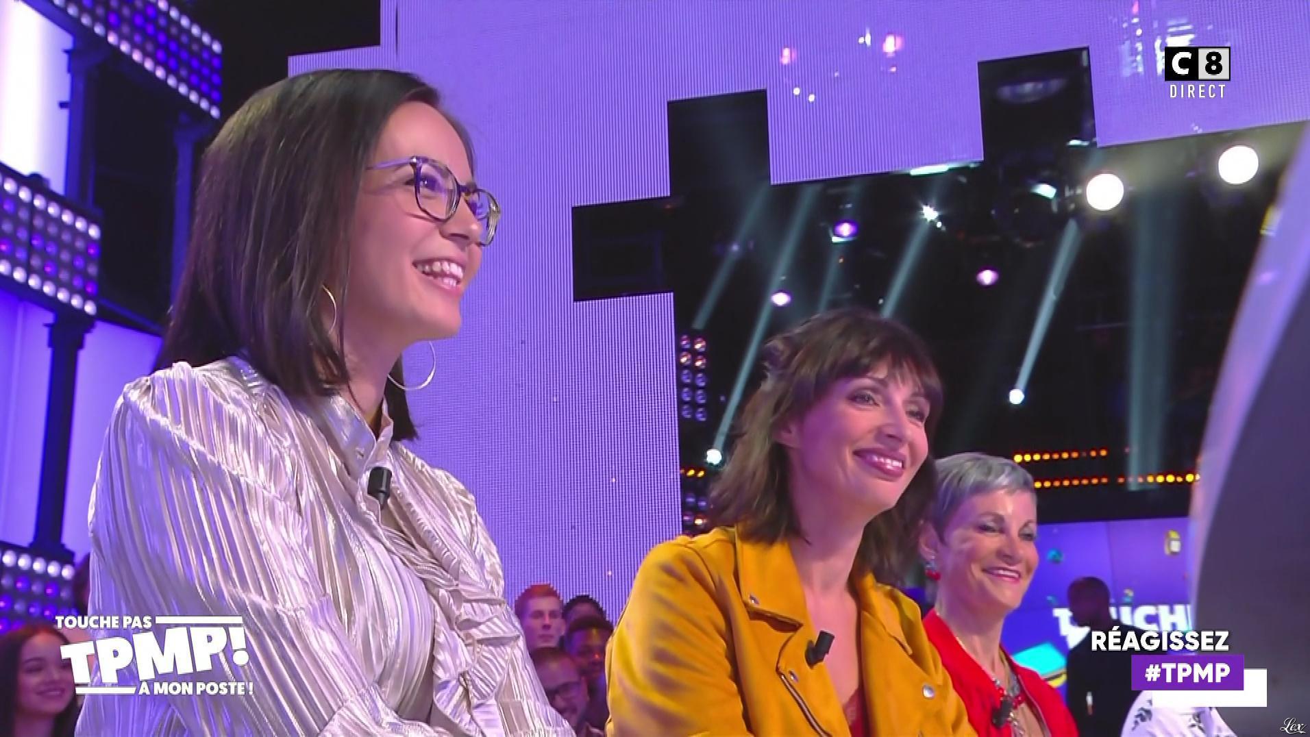 Agathe Auproux dans Touche pas à mon Poste. Diffusé à la télévision le 17/09/19.