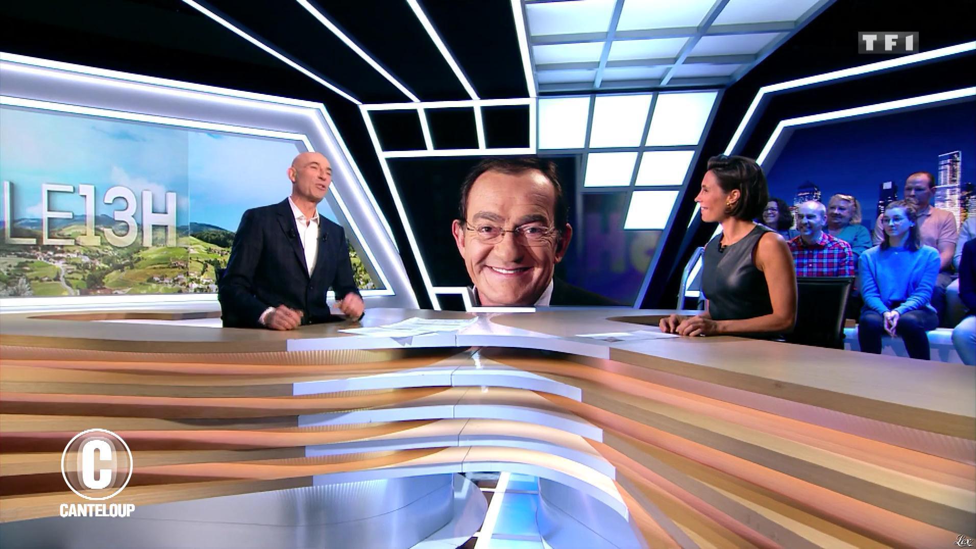 Alessandra Sublet dans c'est Canteloup. Diffusé à la télévision le 09/01/20.