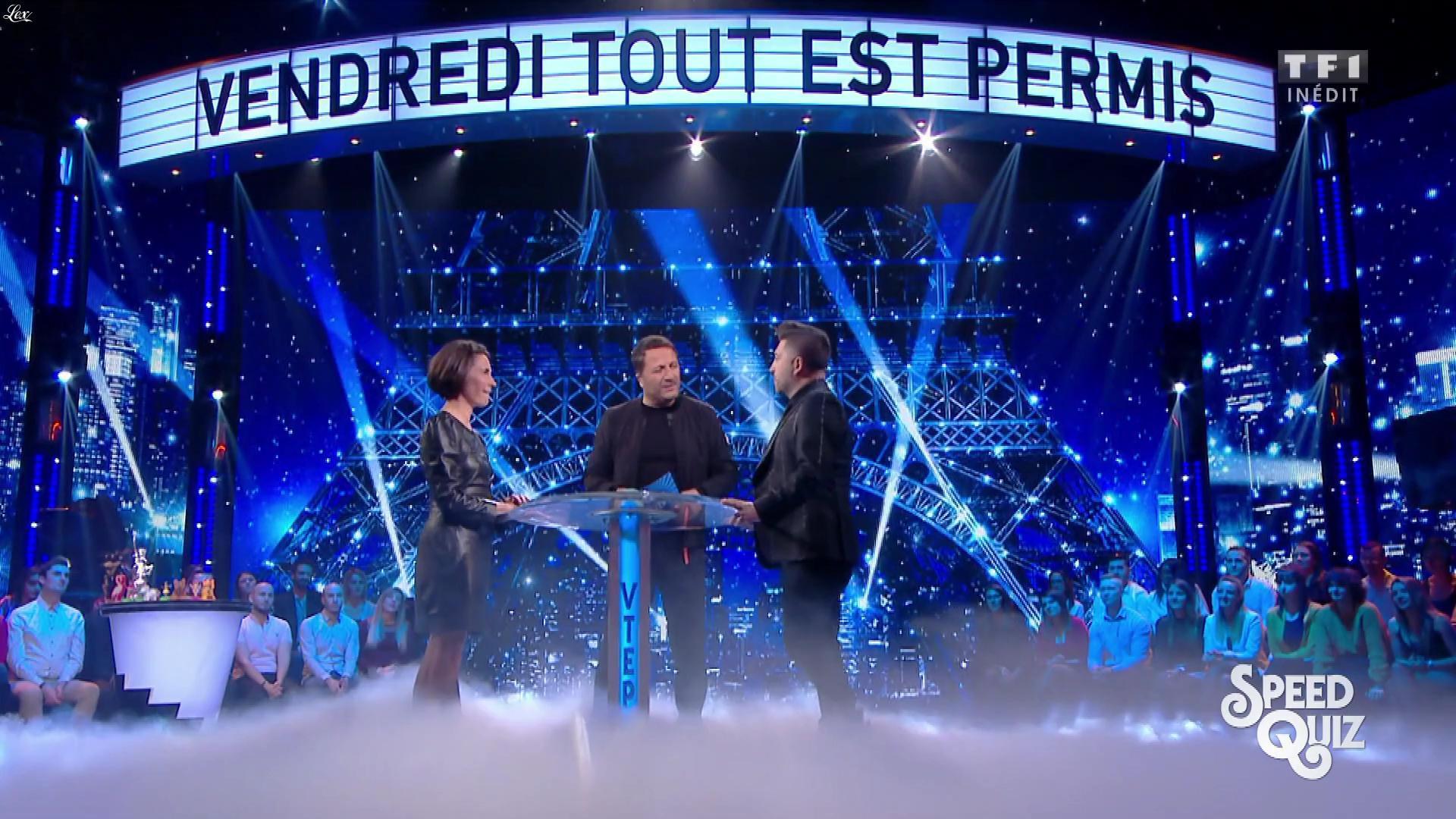 Alessandra Sublet dans Vendredi, Tout Est Permis. Diffusé à la télévision le 07/02/20.