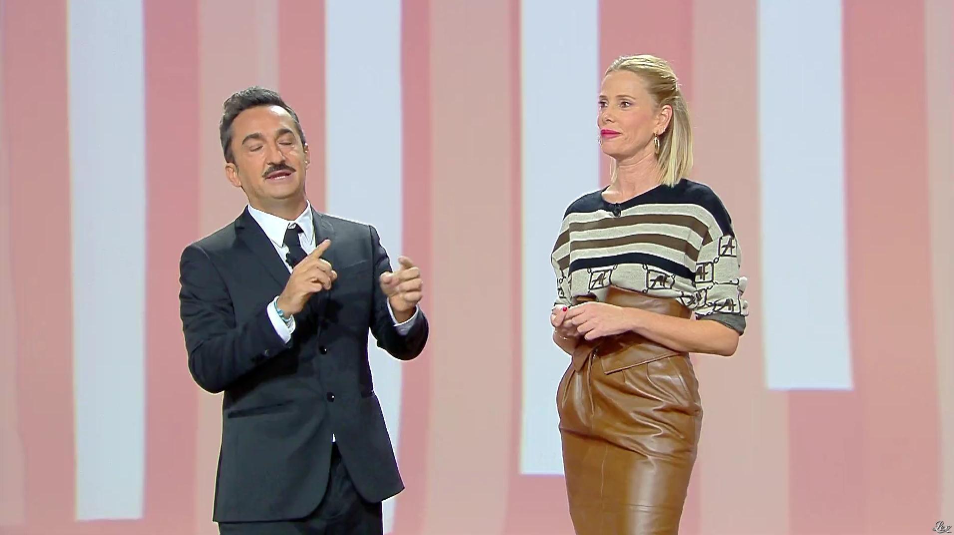 Alessia Marcuzzi dans le Iene. Diffusé à la télévision le 22/10/19.