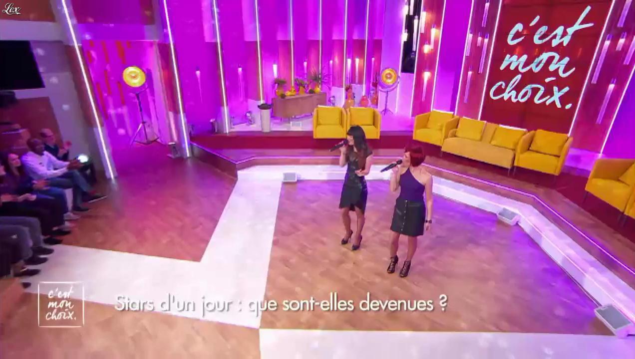 Alexandra Canto et Marjorie Parascandola dans c'est mon Choix. Diffusé à la télévision le 24/03/16.