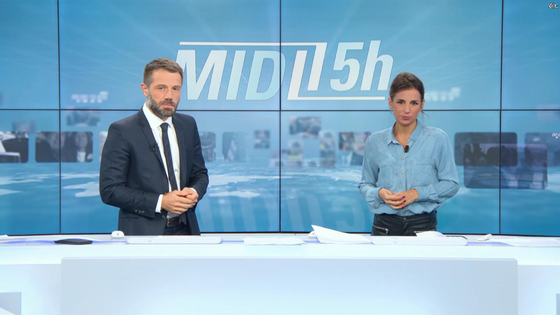 Alice Darfeuille dans le Midi-15h. Diffusé à la télévision le 03/10/19.