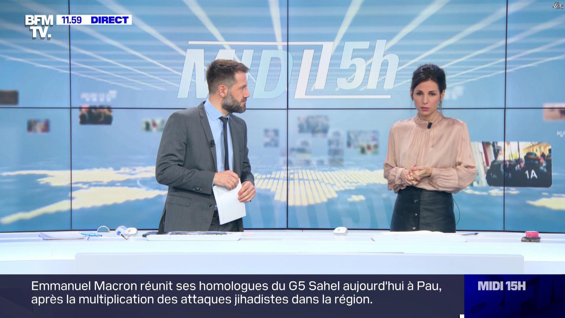 Alice Darfeuille dans le Midi-15h. Diffusé à la télévision le 13/01/20.