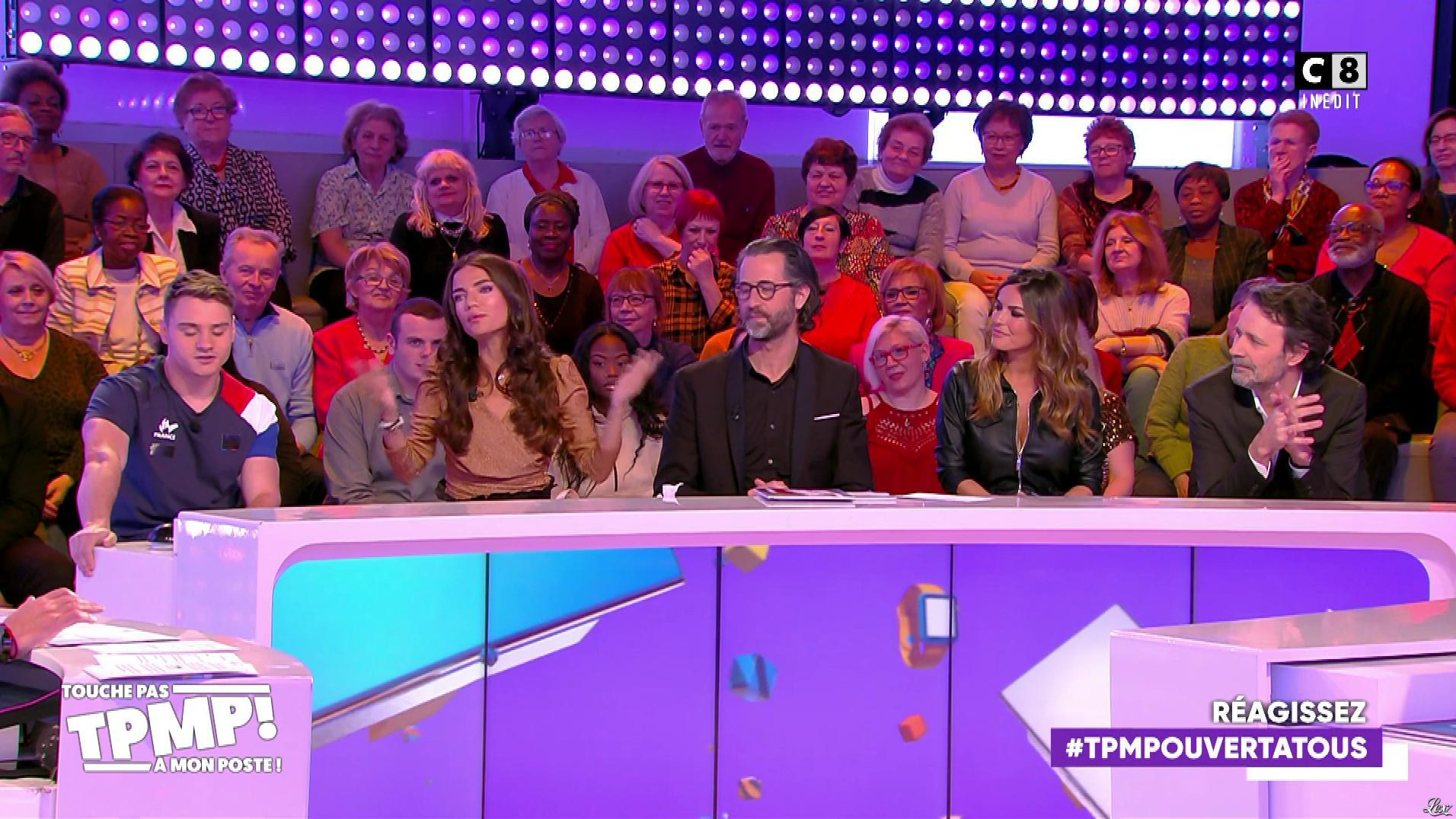 Amélie Bitoun dans Touche pas à mon Poste. Diffusé à la télévision le 28/02/20.