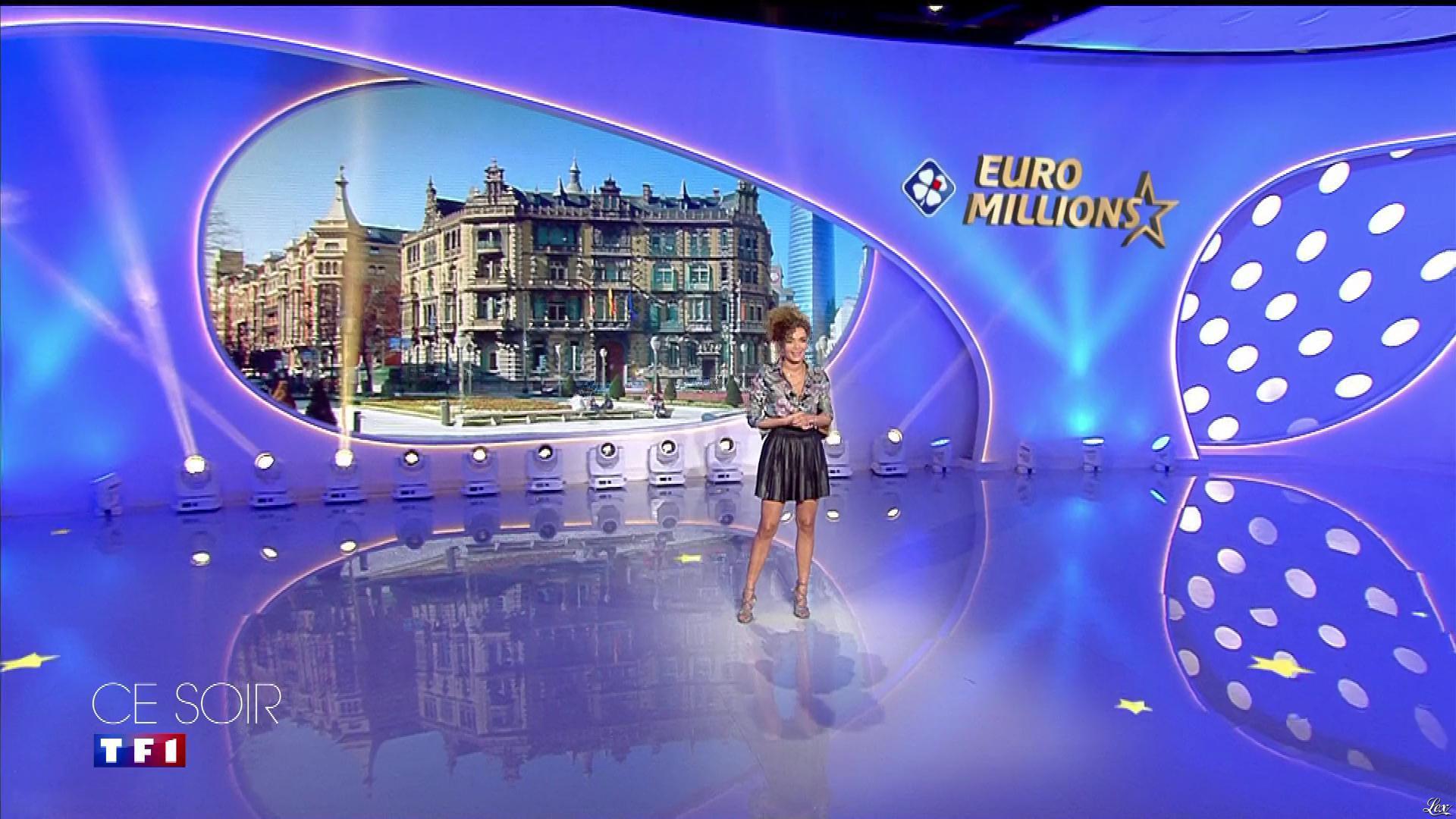 Anaïs Grangerac dans une Bande-Annonce de l'Euro Millions. Diffusé à la télévision le 10/01/20.