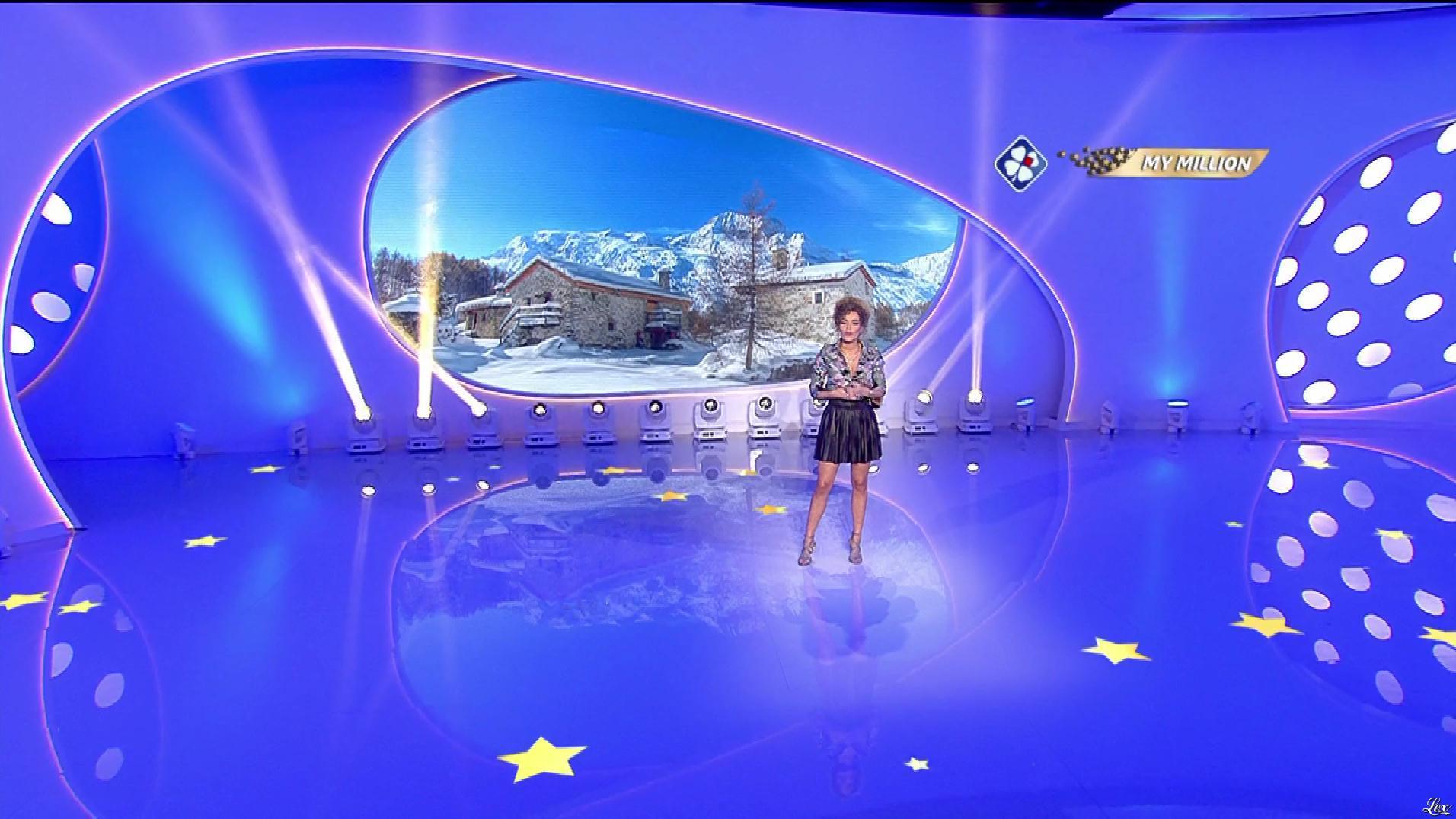 Anaïs Grangerac dans My Million. Diffusé à la télévision le 10/01/20.