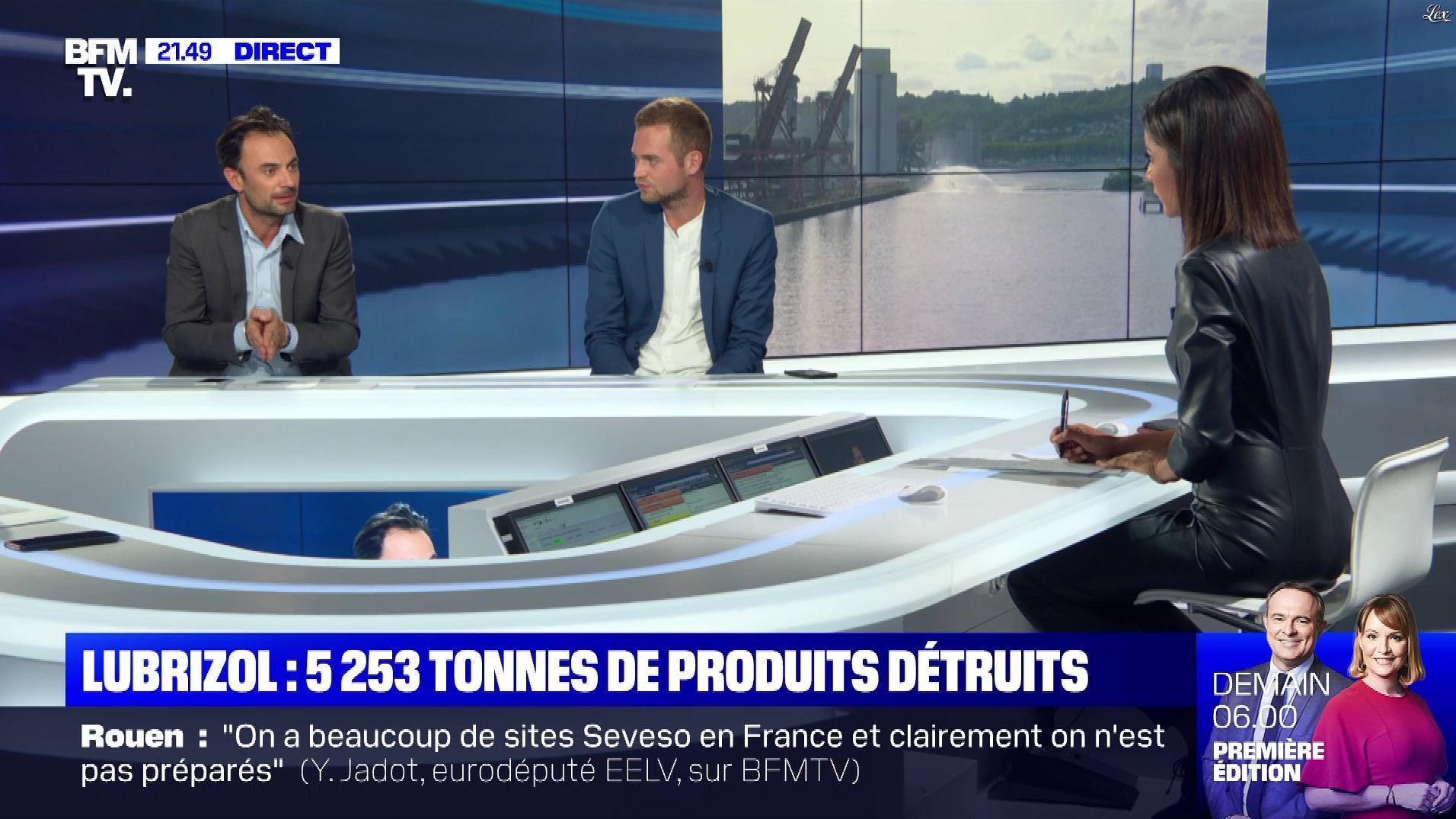 Aurélie Casse dans le Dezoom. Diffusé à la télévision le 01/10/19.