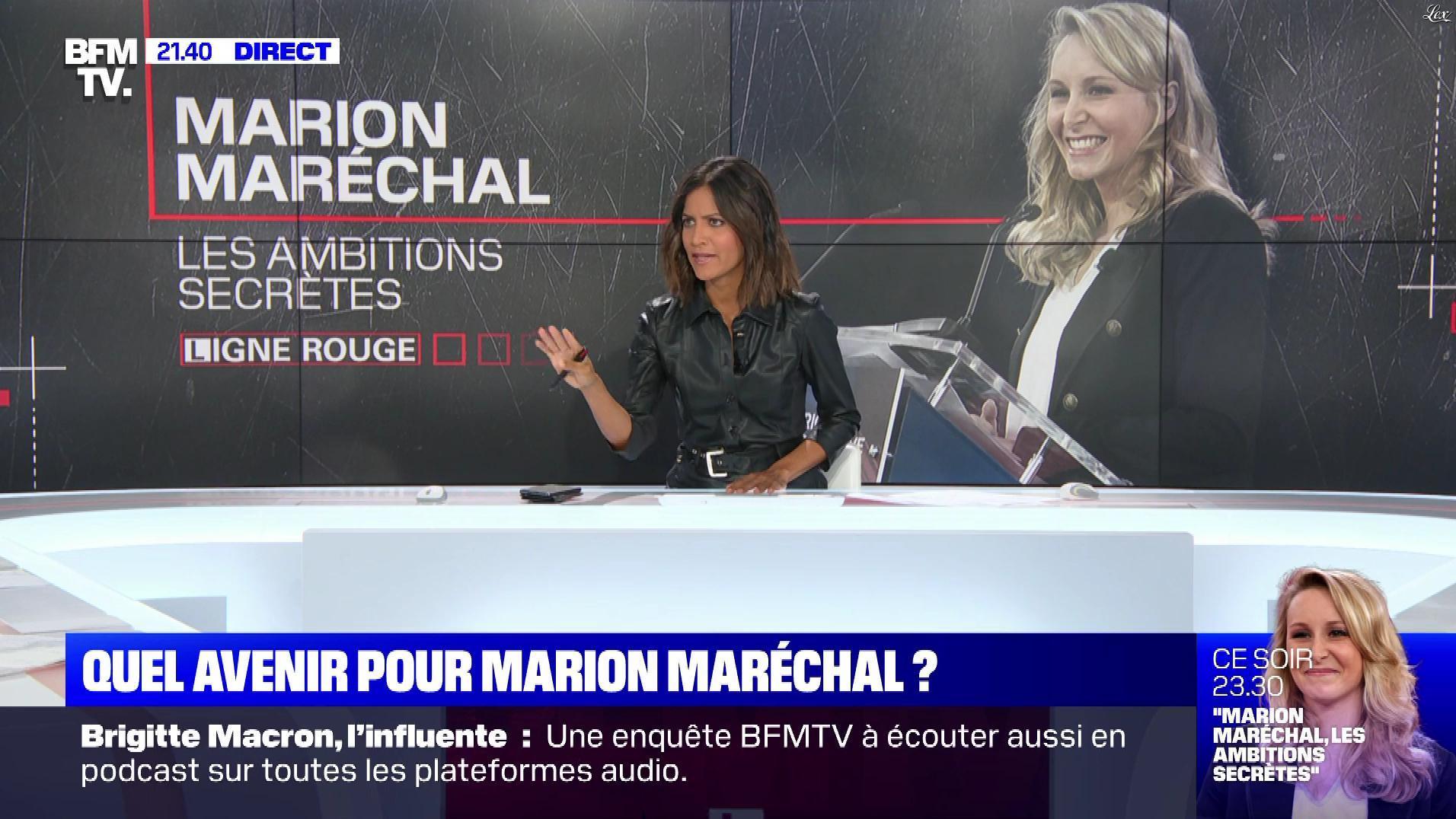 Aurélie Casse dans Ligne Rouge. Diffusé à la télévision le 23/09/19.