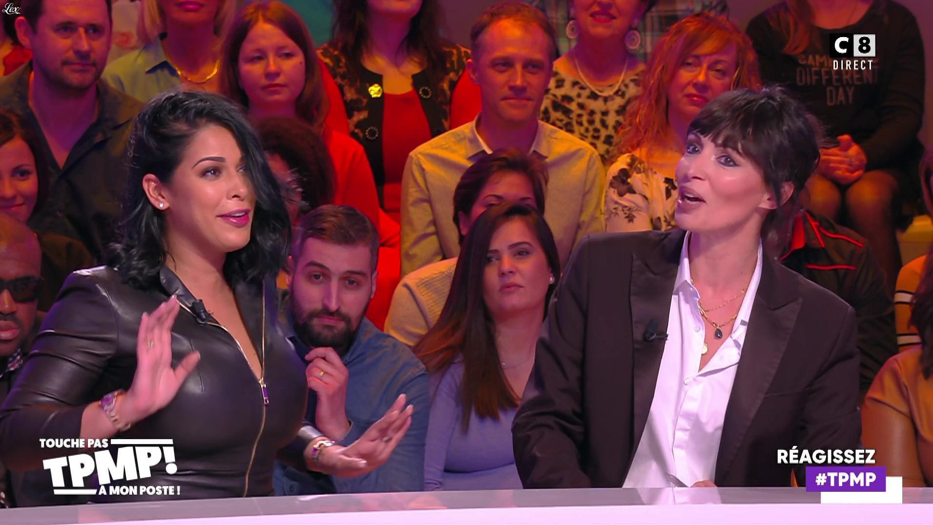 Ayem Nour dans Touche pas à mon Poste. Diffusé à la télévision le 07/01/20.