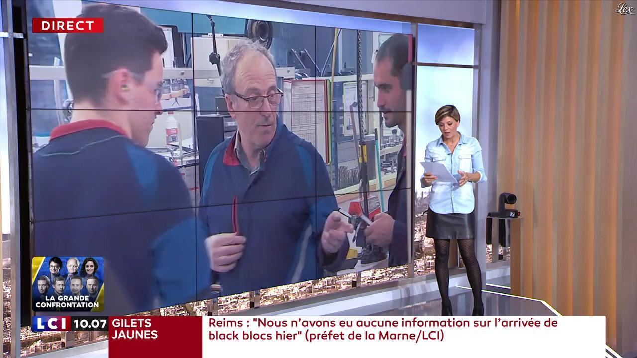 Bénédicte Le Chatelier dans le Brunch. Diffusé à la télévision le 19/05/19.