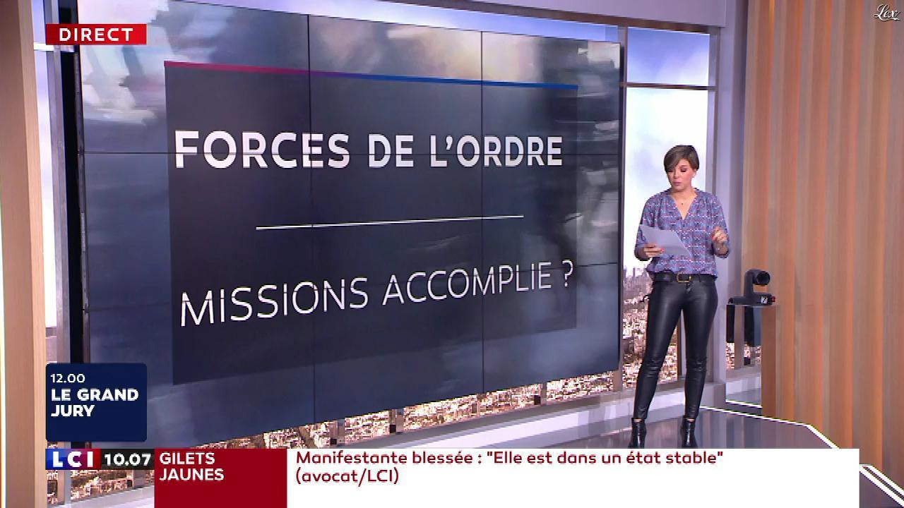 Bénédicte Le Chatelier dans le Brunch. Diffusé à la télévision le 24/03/19.