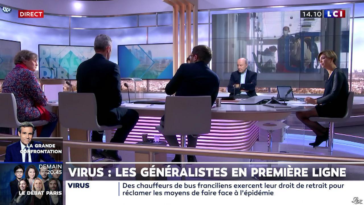 Bénédicte Le Chatelier dans le Club Le Chatelier. Diffusé à la télévision le 03/03/20.