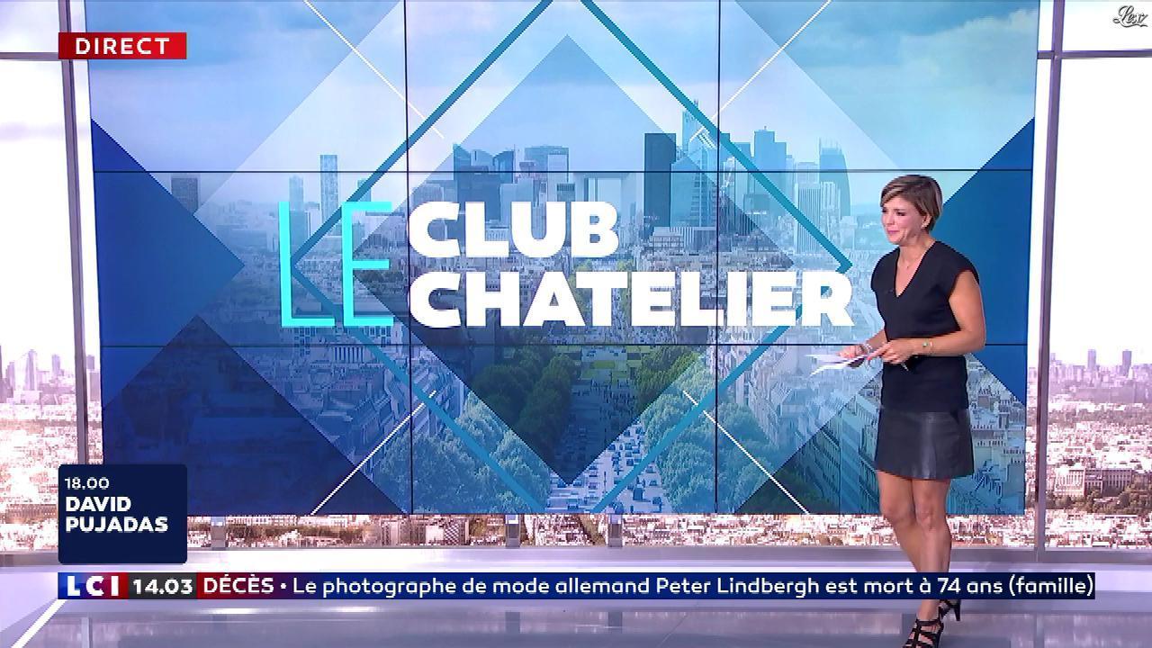 Bénédicte Le Chatelier dans le Club Le Chatelier. Diffusé à la télévision le 04/09/19.