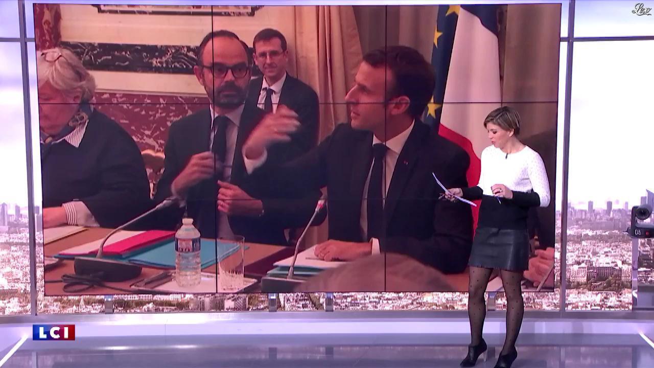 Bénédicte Le Chatelier dans le Club Le Chatelier. Diffusé à la télévision le 06/02/20.