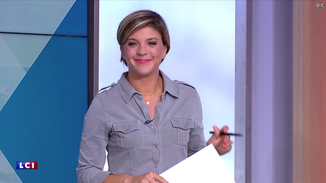 Bénédicte Le Chatelier dans le Club Le Chatelier. Diffusé à la télévision le 06/09/19.