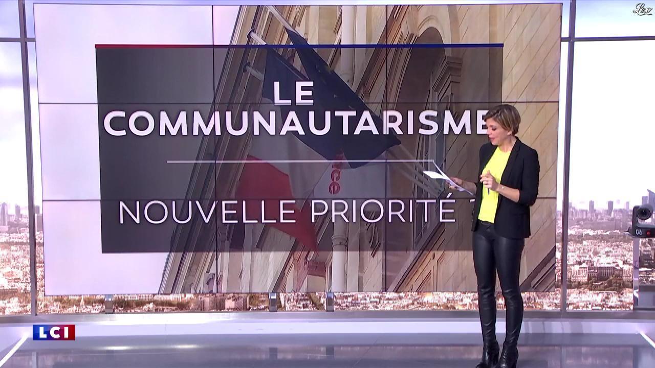 Bénédicte Le Chatelier dans le Club Le Chatelier. Diffusé à la télévision le 10/02/20.