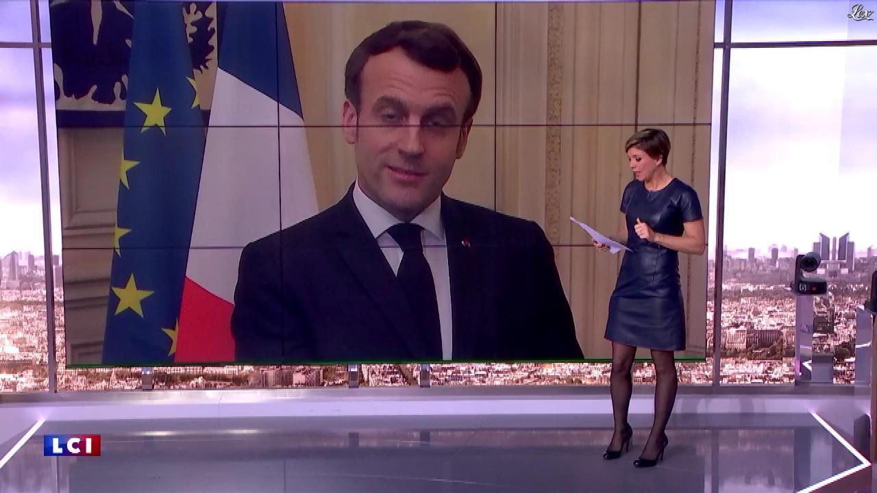 Bénédicte Le Chatelier dans le Club Le Chatelier. Diffusé à la télévision le 12/03/20.
