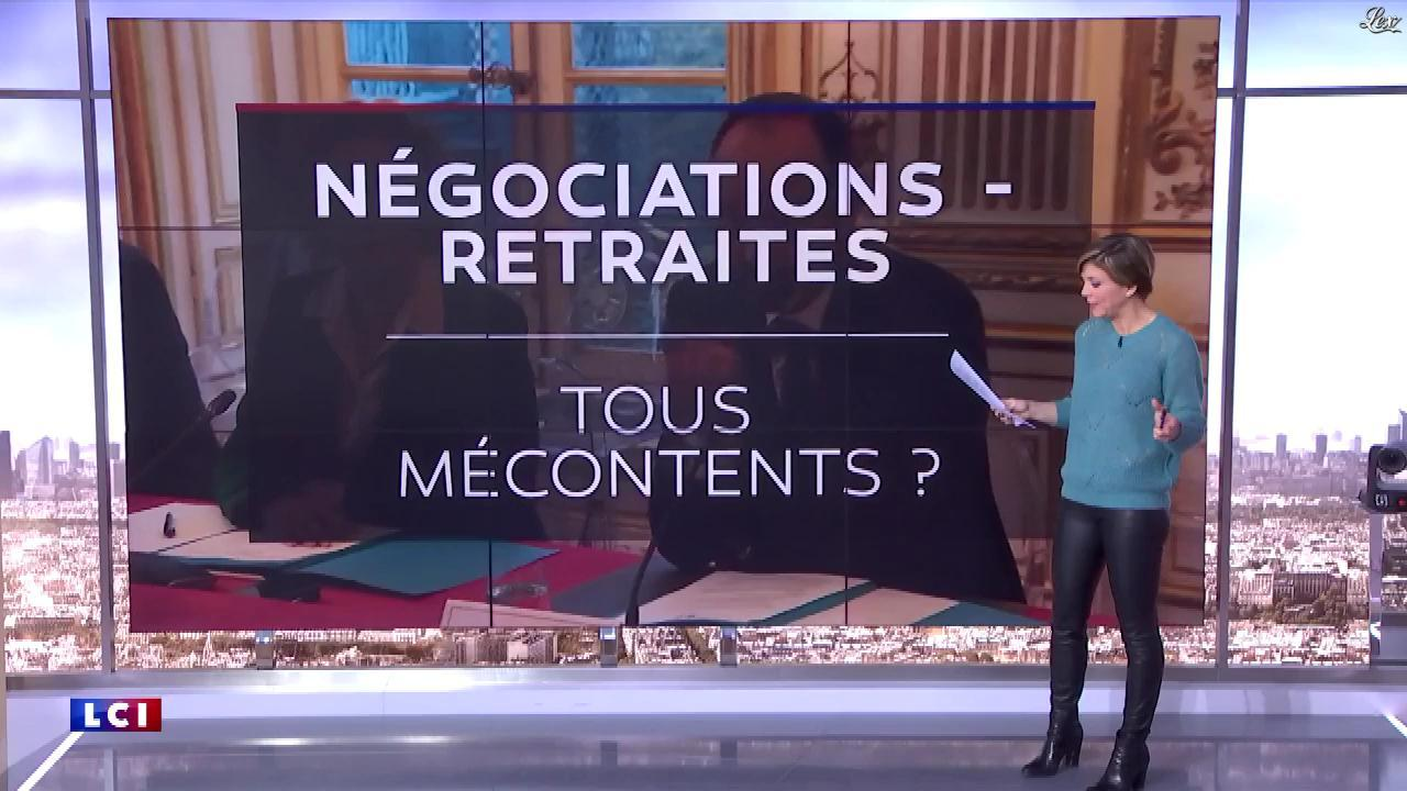 Bénédicte Le Chatelier dans le Club Le Chatelier. Diffusé à la télévision le 13/02/20.