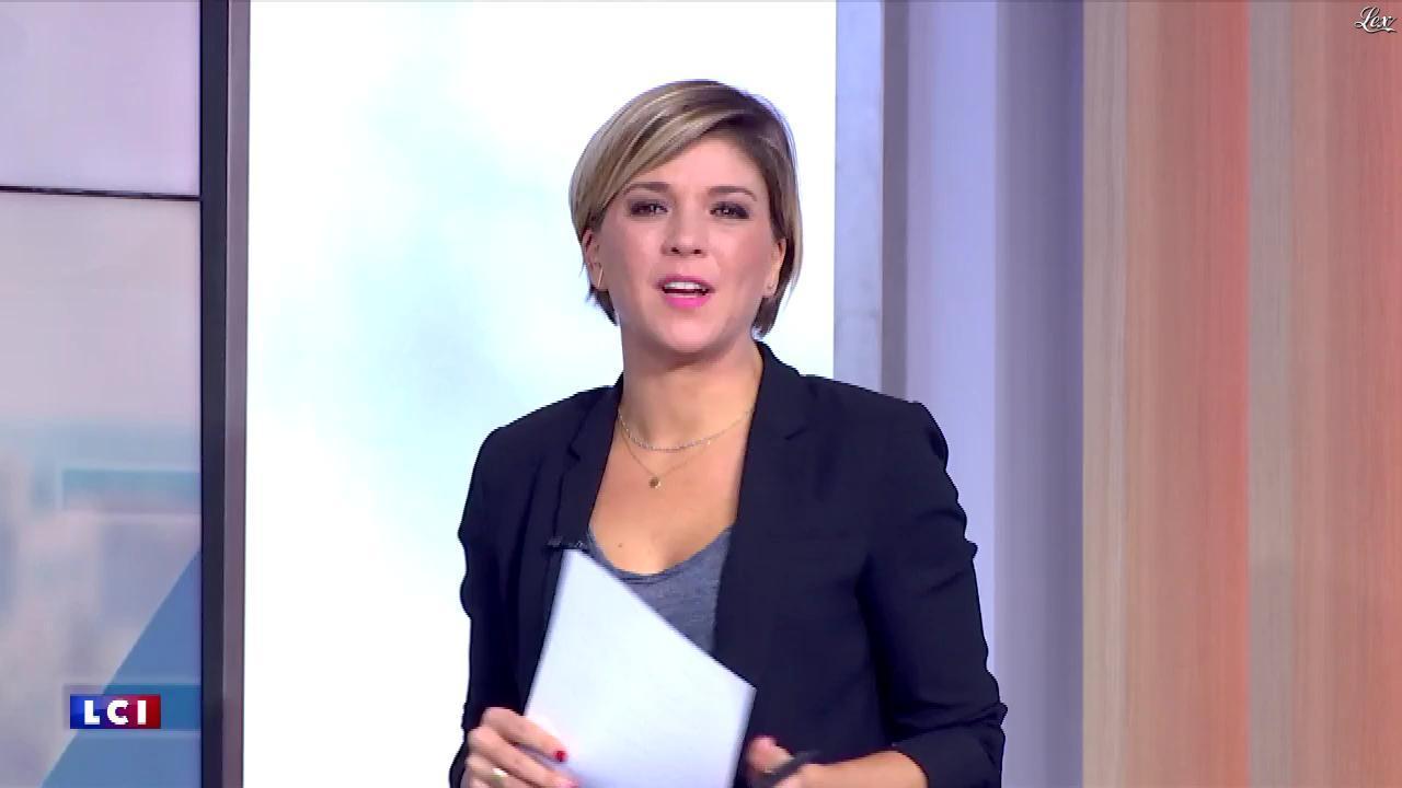 Bénédicte Le Chatelier dans le Club Le Chatelier. Diffusé à la télévision le 15/10/19.