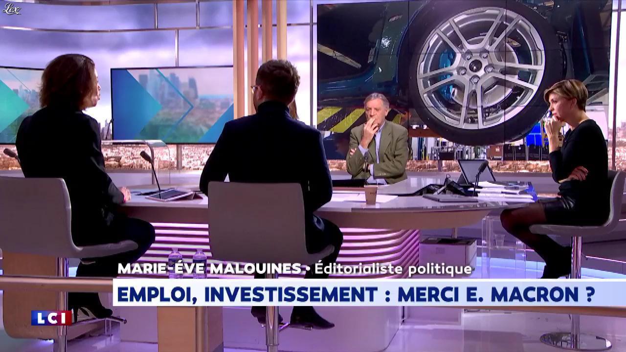 Bénédicte Le Chatelier dans le Club Le Chatelier. Diffusé à la télévision le 20/01/20.