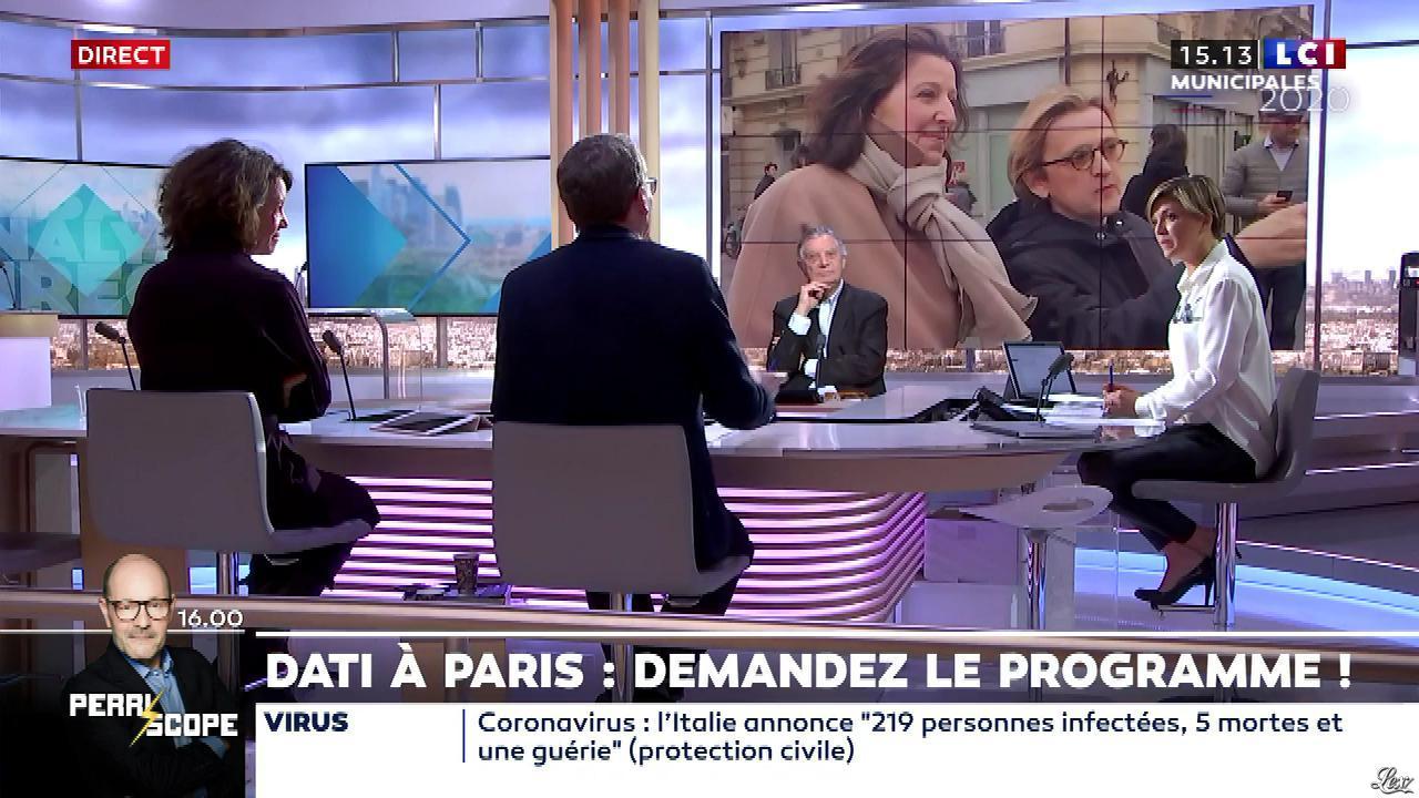 Bénédicte Le Chatelier dans le Club Le Chatelier. Diffusé à la télévision le 24/02/20.