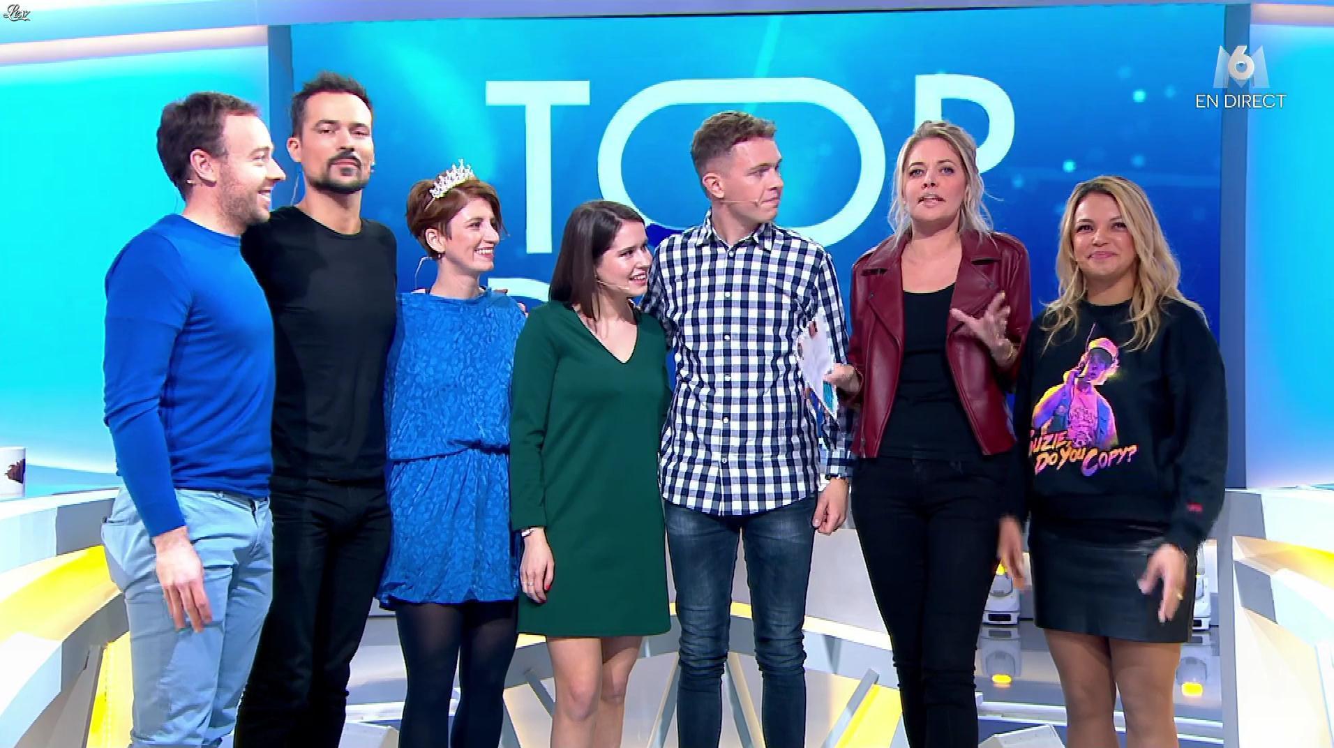 Carine Galli et Séverine Ferrer dans Top Départ. Diffusé à la télévision le 18/01/20.