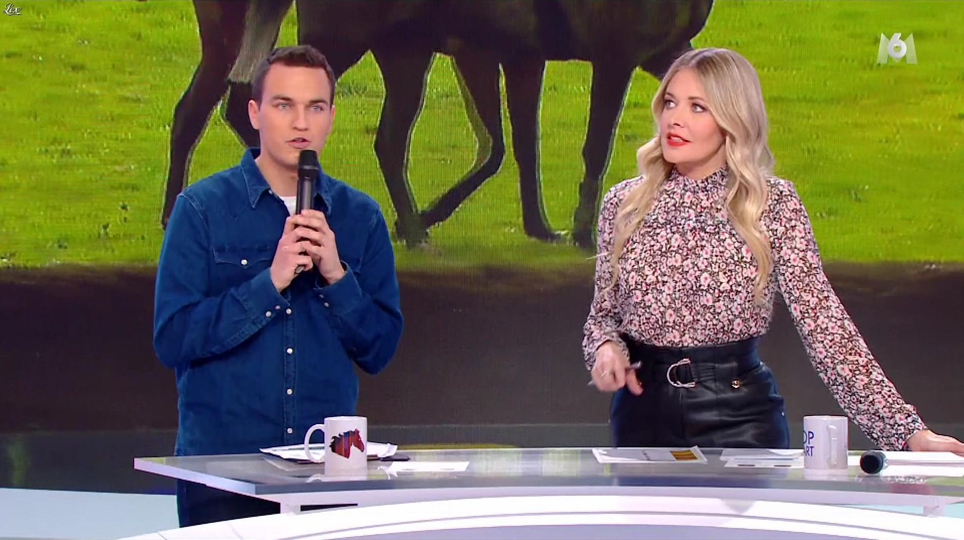 Carine Galli dans Top Départ. Diffusé à la télévision le 08/02/20.