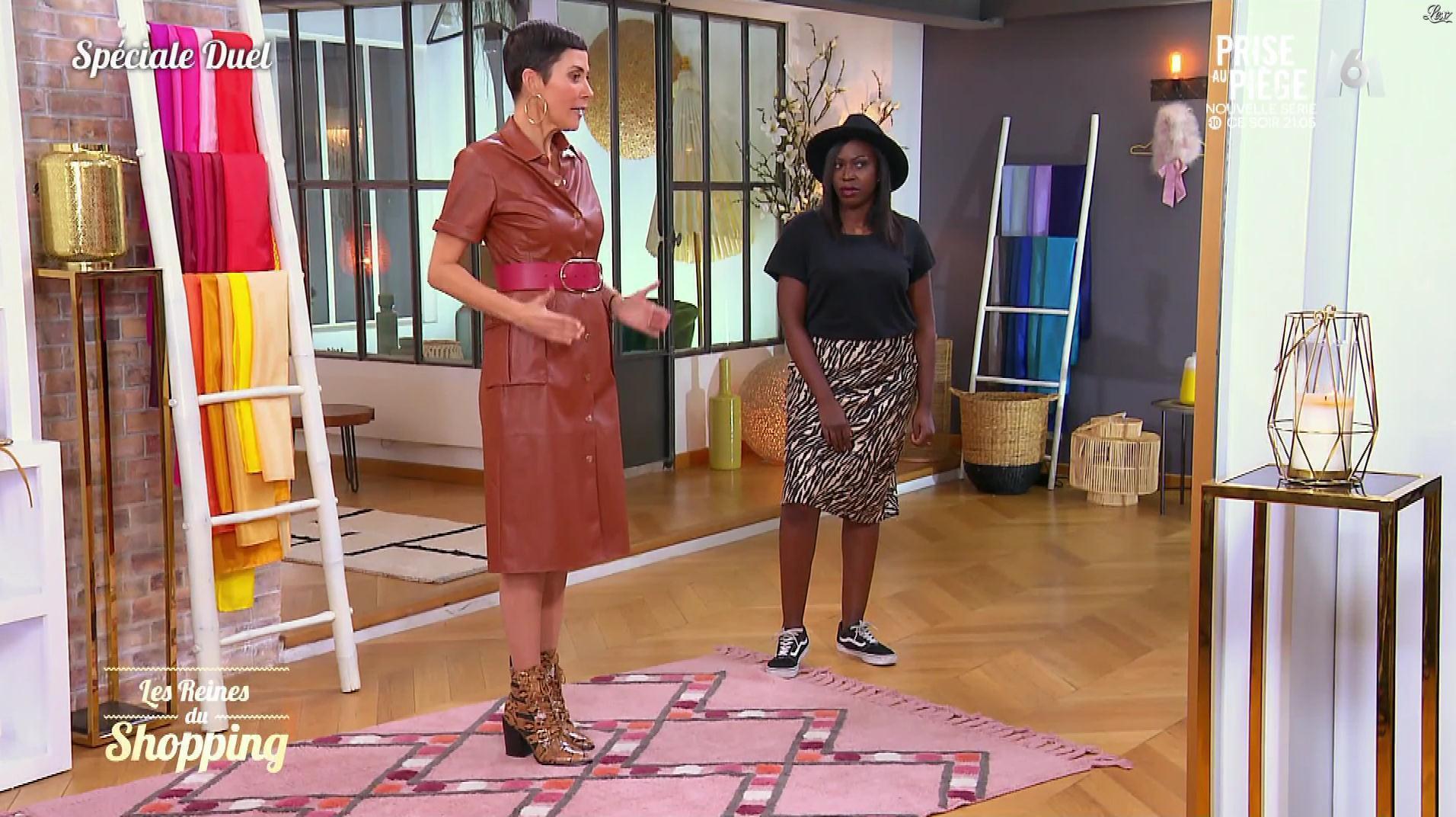 Cristina Cordula dans les Reines du Shopping. Diffusé à la télévision le 11/12/19.