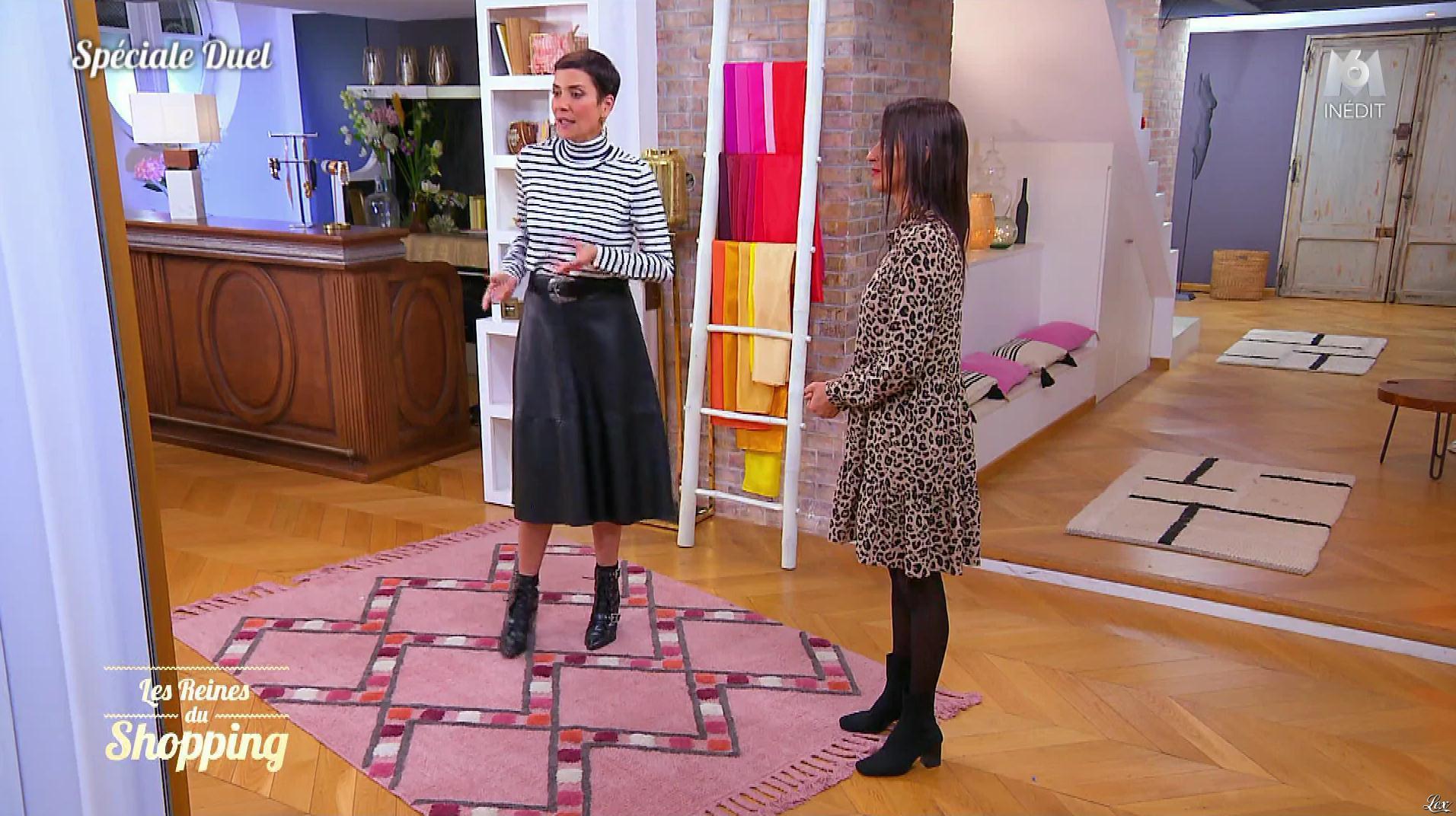 Cristina Cordula dans les Reines du Shopping. Diffusé à la télévision le 19/12/19.