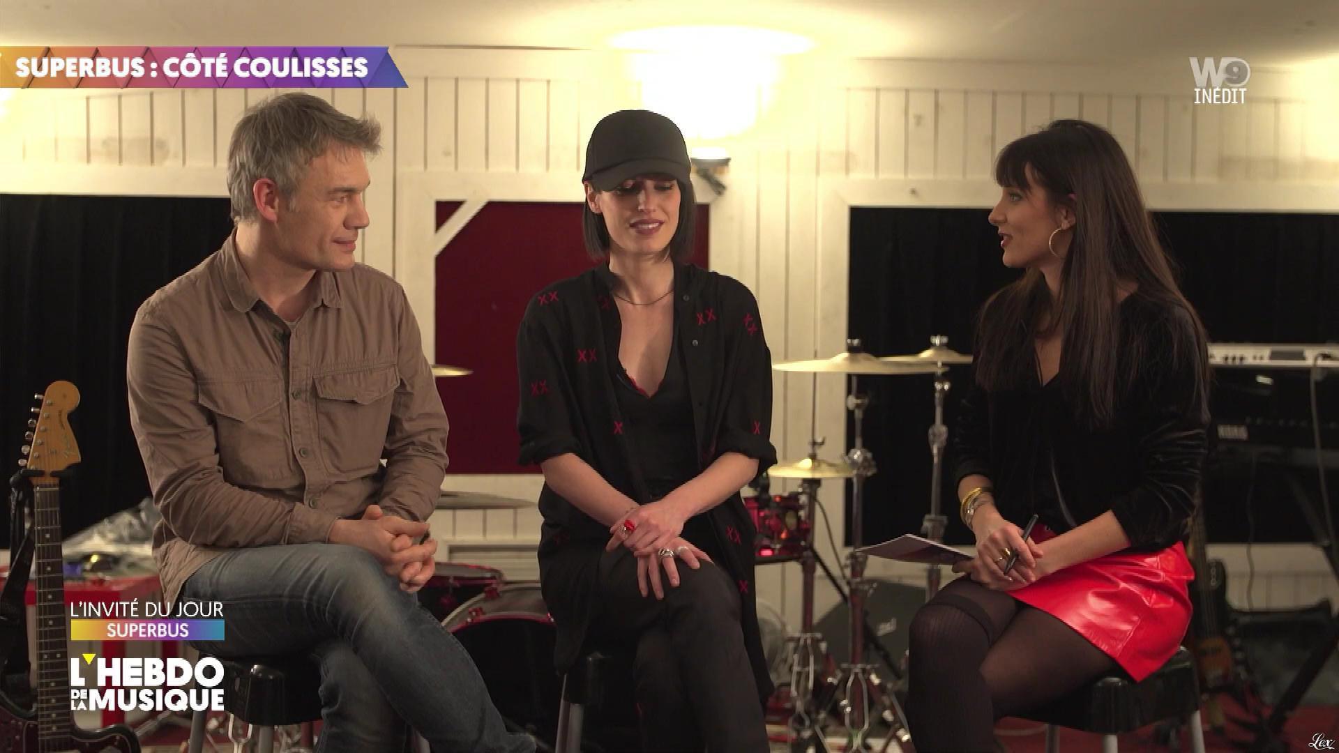 Erika Moulet dans l'Hebdo de la Musique. Diffusé à la télévision le 29/02/20.