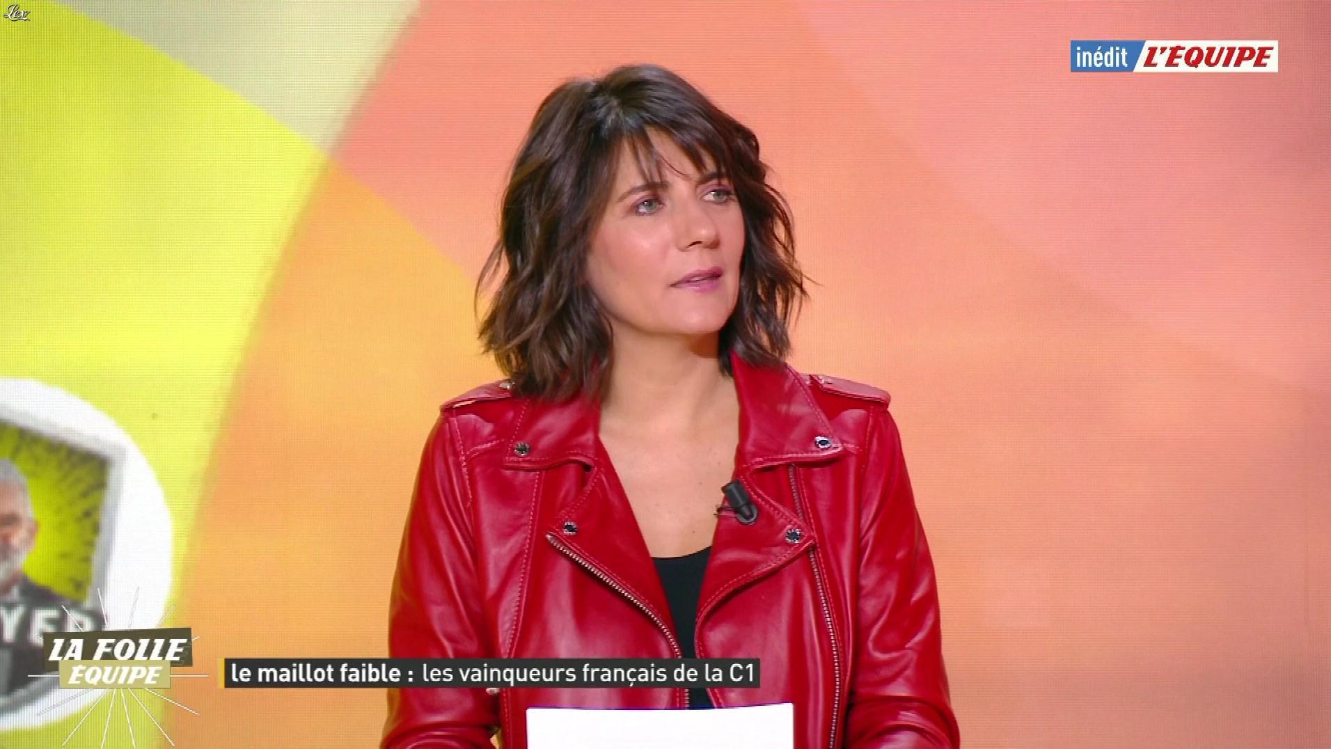 Estelle Denis dans la Folle Equipe. Diffusé à la télévision le 05/03/20.