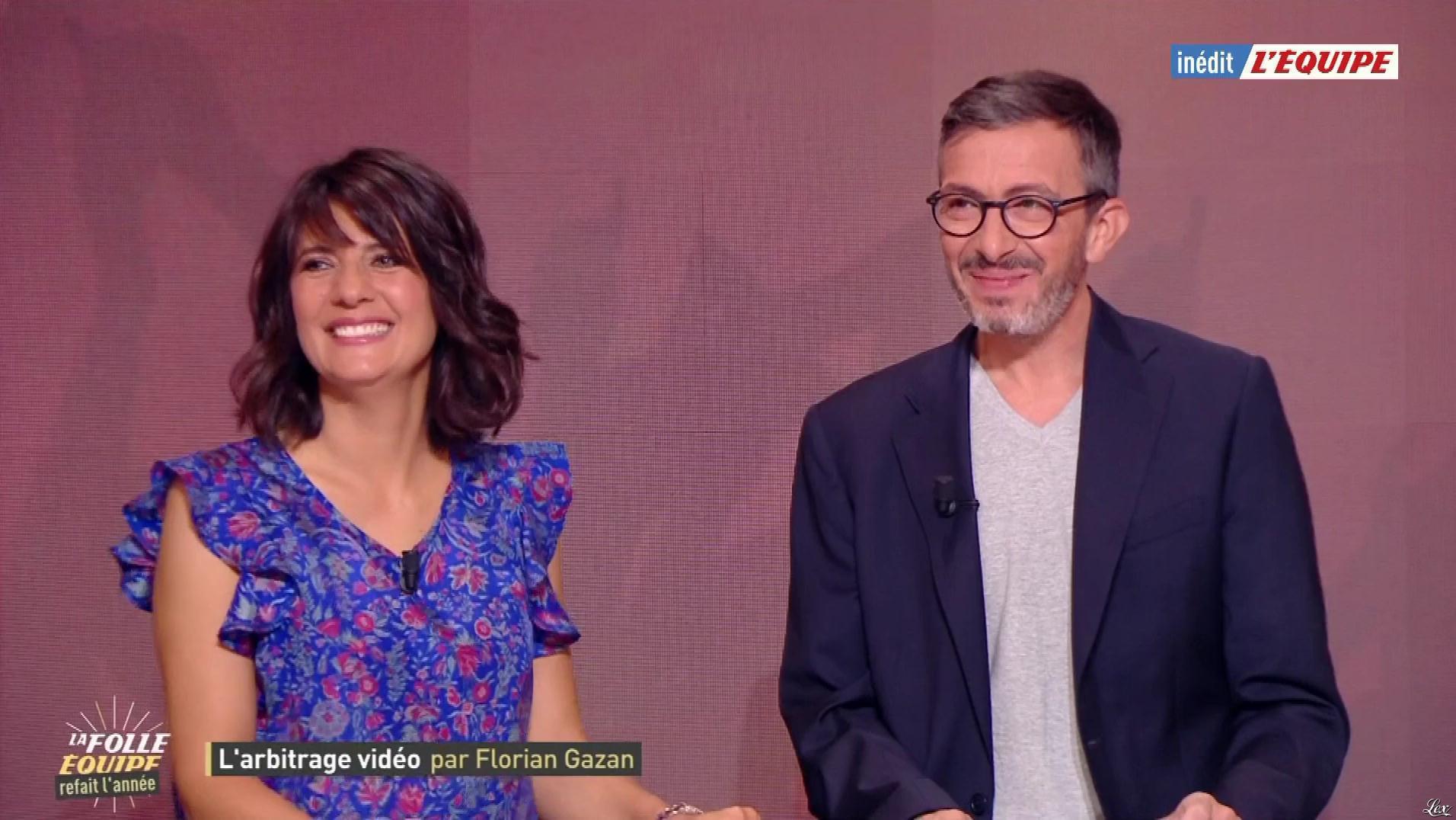 Estelle Denis dans la Folle Equipe. Diffusé à la télévision le 19/06/19.