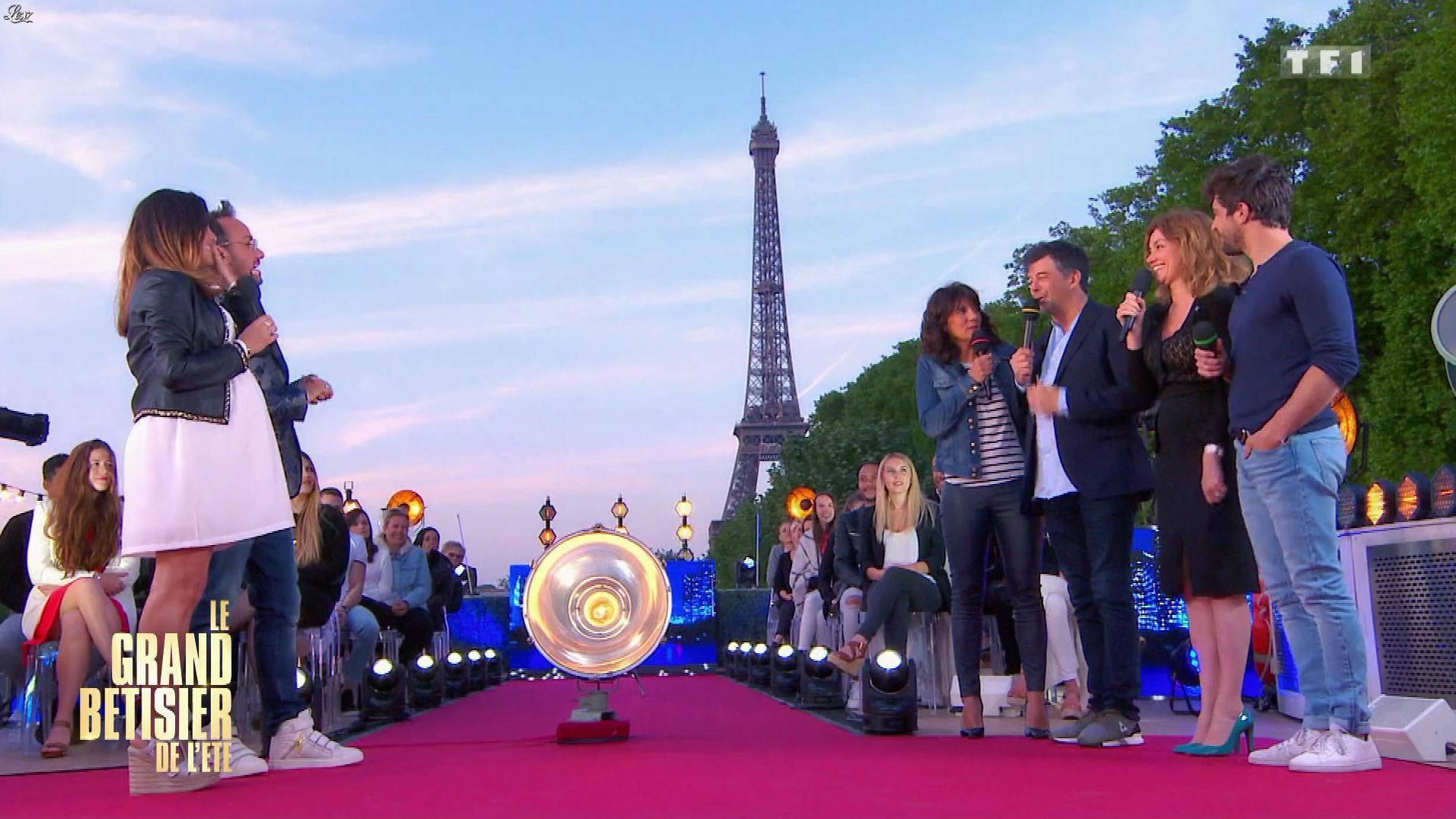 Estelle Denis dans le Grand Bêtisier de l'Ete. Diffusé à la télévision le 25/08/18.