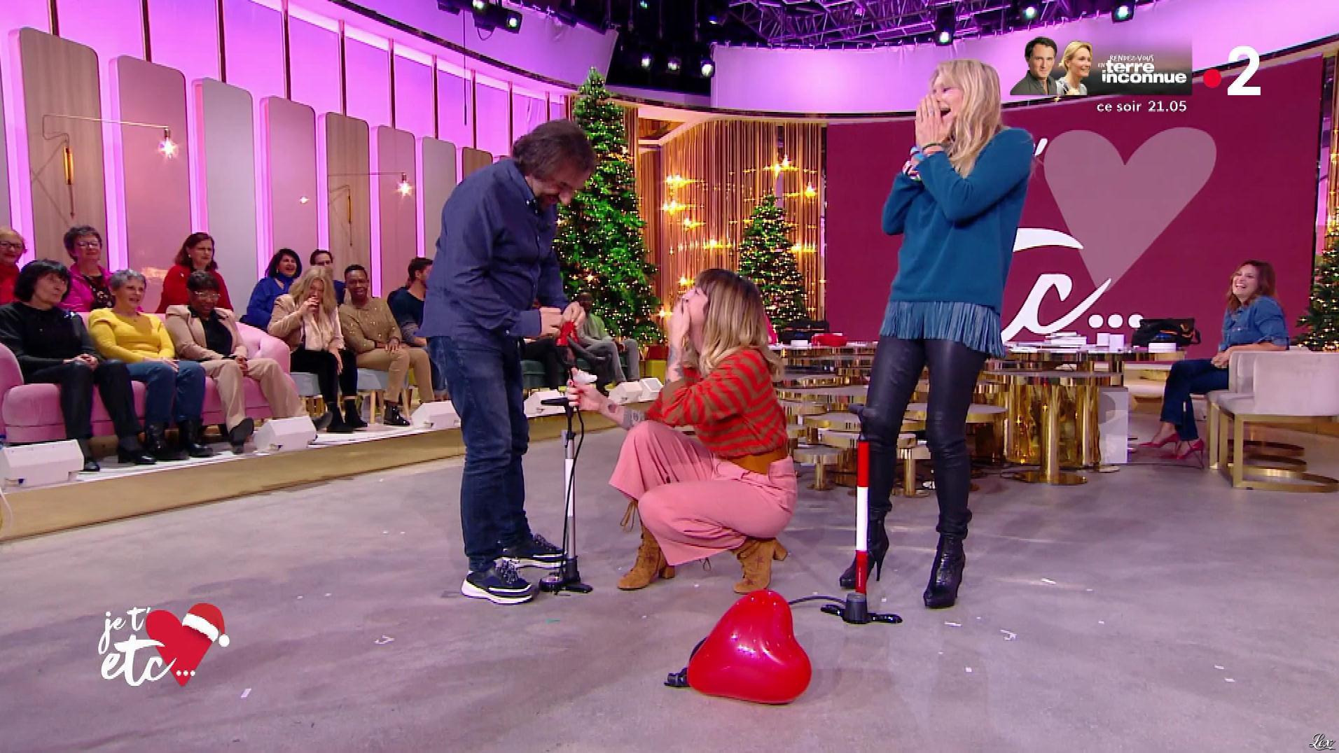 Estelle Lefébure dans Je t'aime, etc.. Diffusé à la télévision le 03/12/19.