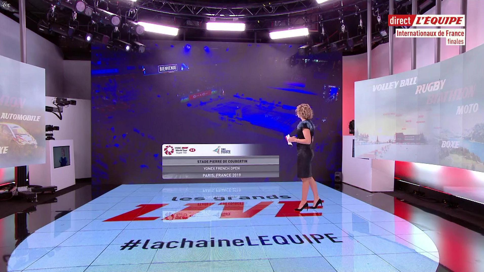 France Pierron dans les Grands Live. Diffusé à la télévision le 27/10/19.