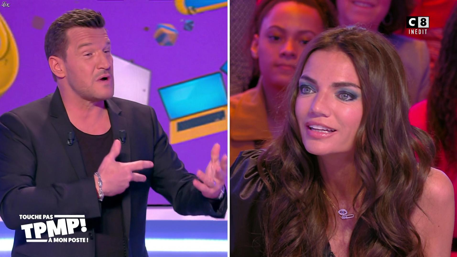 FrancesÇa Antoniotti dans Touche pas à mon Poste. Diffusé à la télévision le 21/02/20.