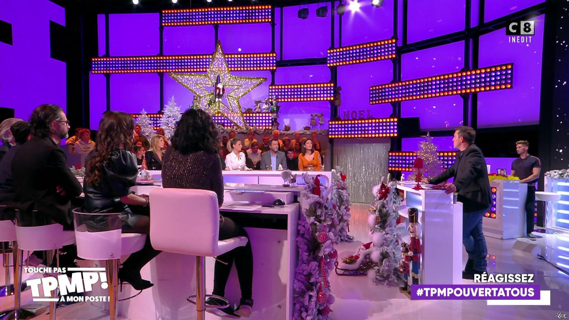 FrancesÇa Antoniotti dans Touche pas à mon Poste People. Diffusé à la télévision le 13/12/19.