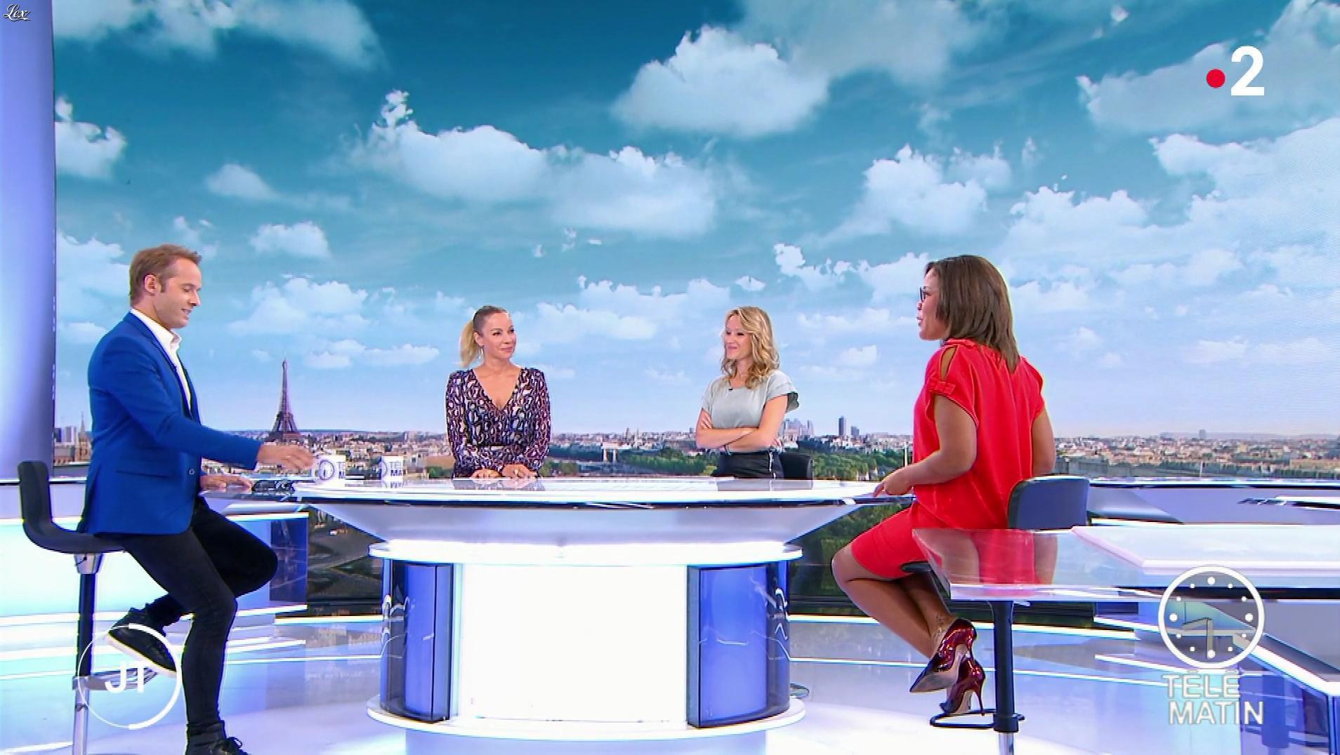 Karine Baste-Régis dans Télématin. Diffusé à la télévision le 09/09/19.