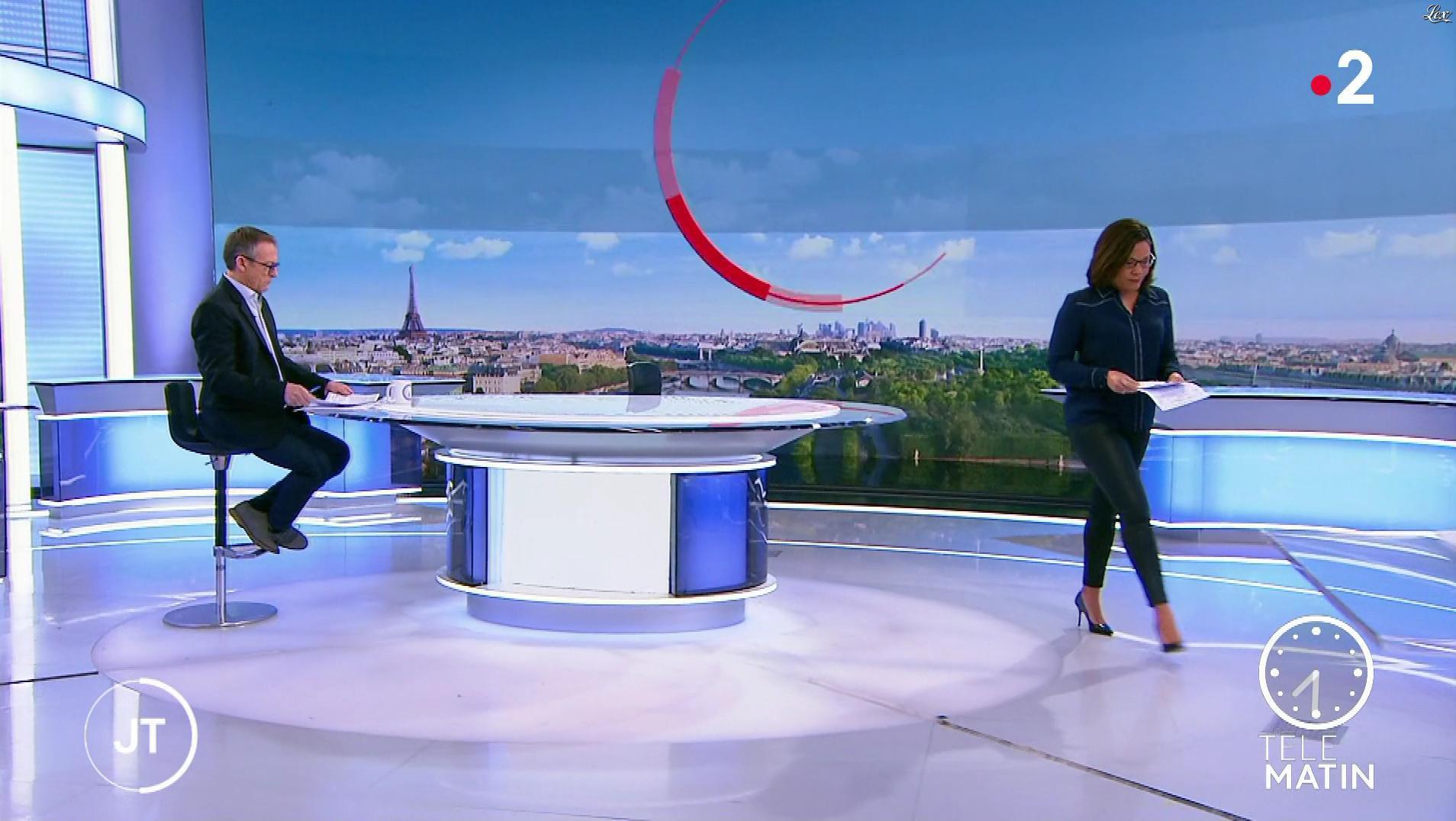 Karine Baste-Régis dans Télématin. Diffusé à la télévision le 13/01/20.