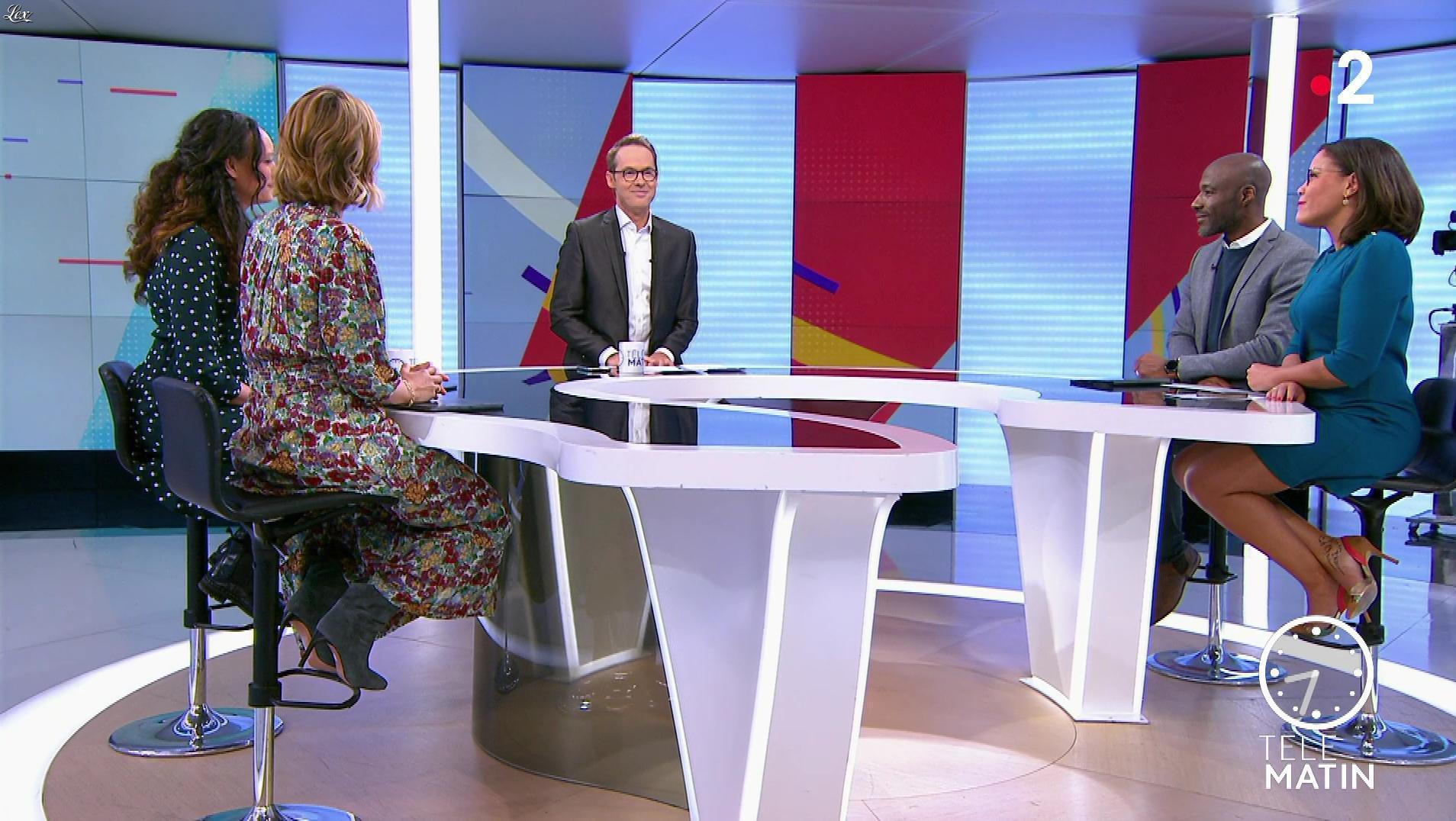 Karine Baste-Régis dans Télématin. Diffusé à la télévision le 28/02/20.
