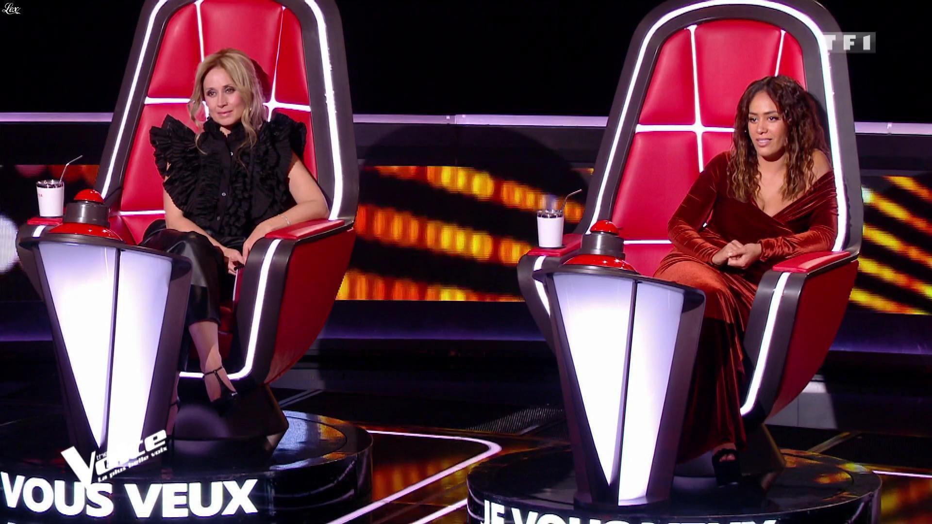 Lara Fabian dans The Voice. Diffusé à la télévision le 08/02/20.
