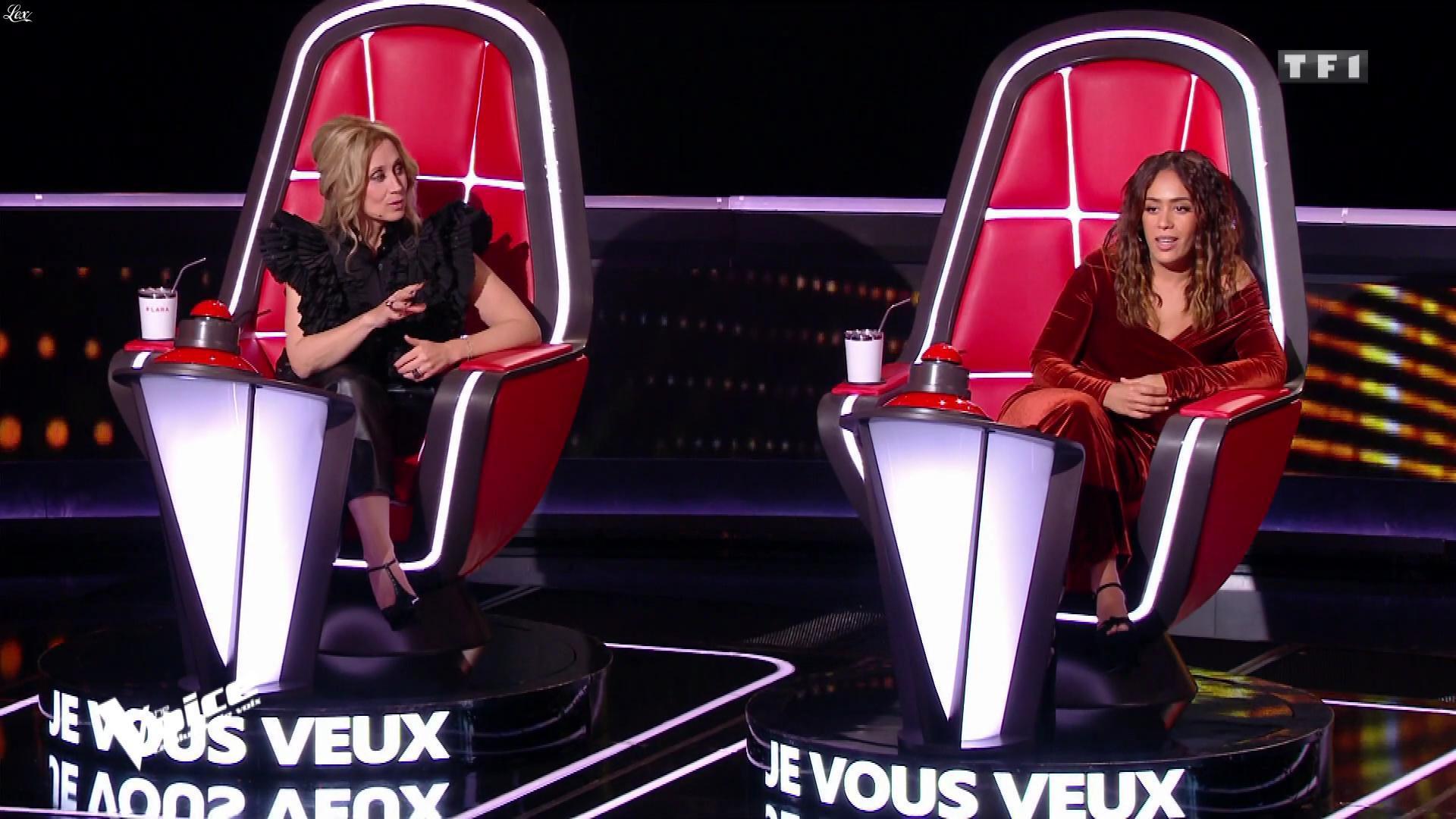 Lara Fabian dans The Voice. Diffusé à la télévision le 15/02/20.