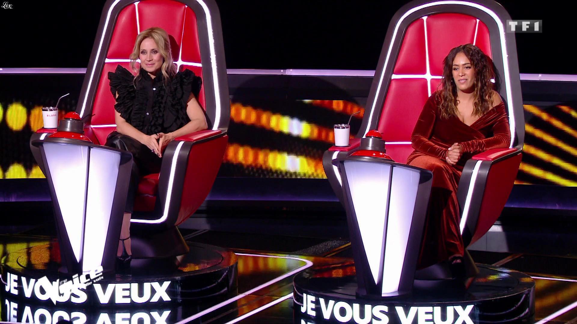 Lara Fabian dans The Voice. Diffusé à la télévision le 29/02/20.