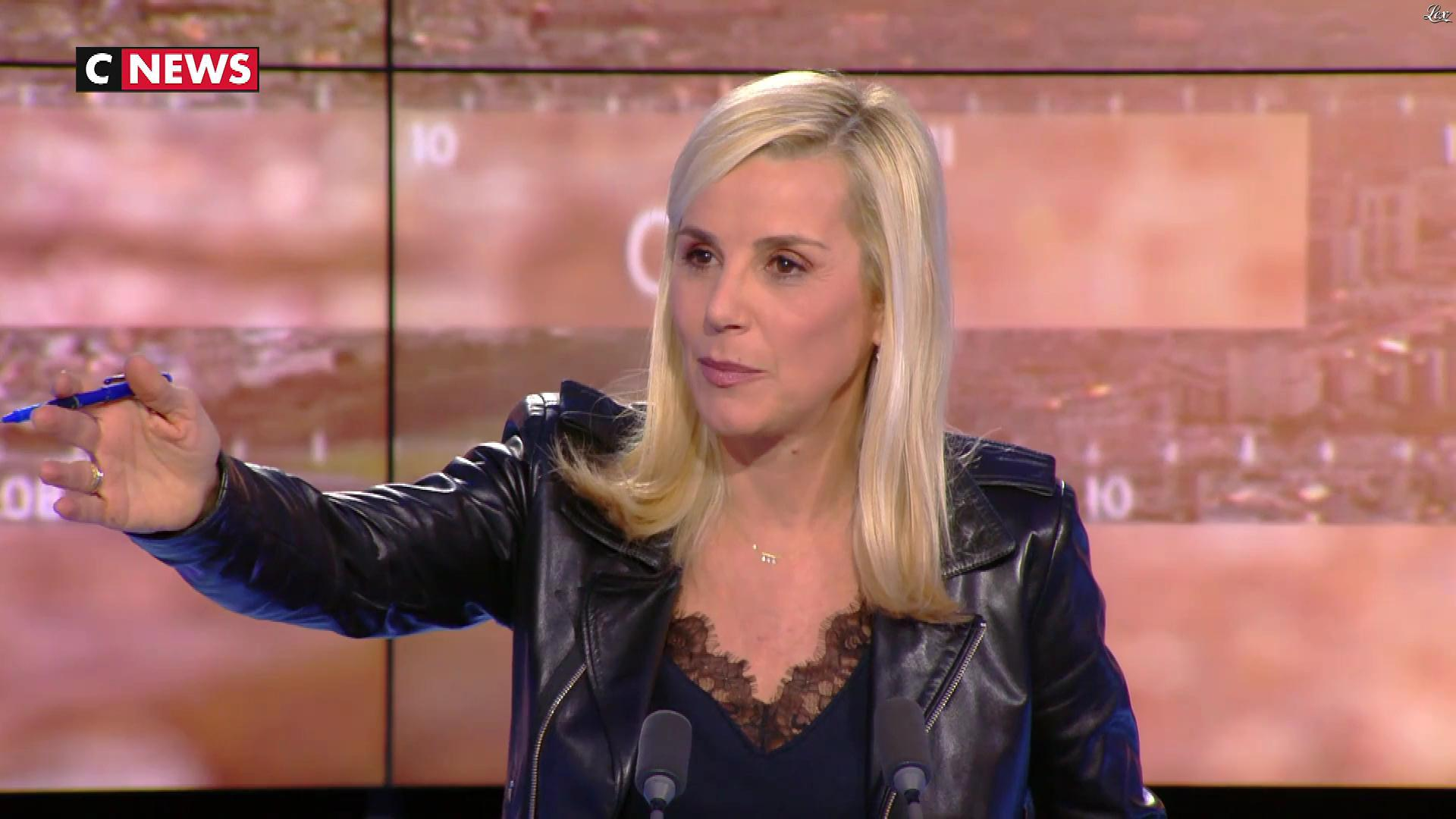 Laurence Ferrari dans Punchline. Diffusé à la télévision le 02/01/20.