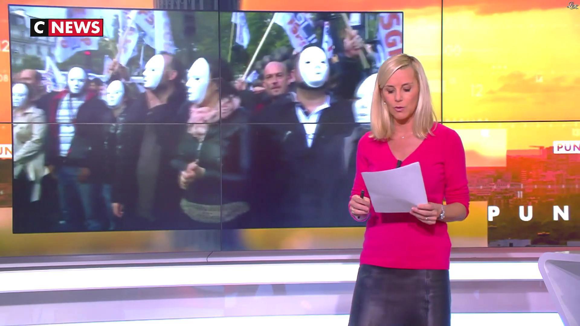 Laurence Ferrari dans Punchline. Diffusé à la télévision le 02/10/19.