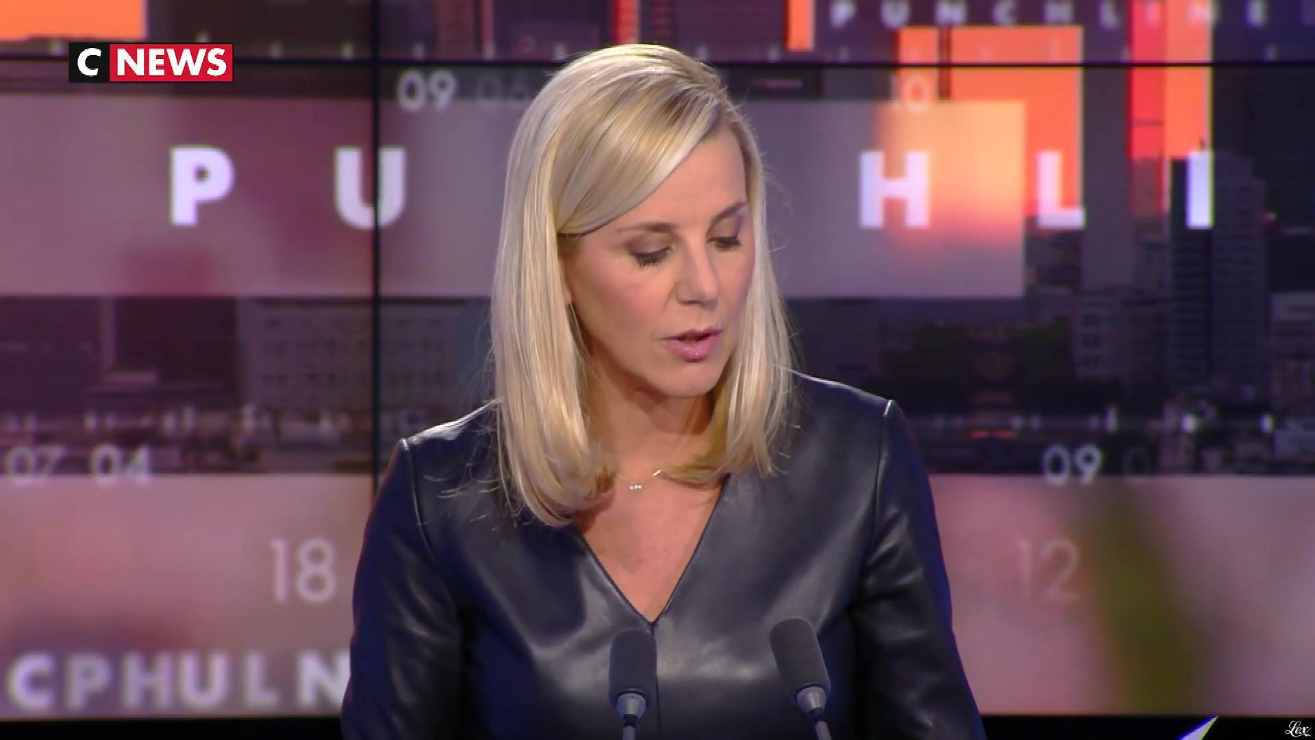 Laurence Ferrari dans Punchline. Diffusé à la télévision le 02/12/19.