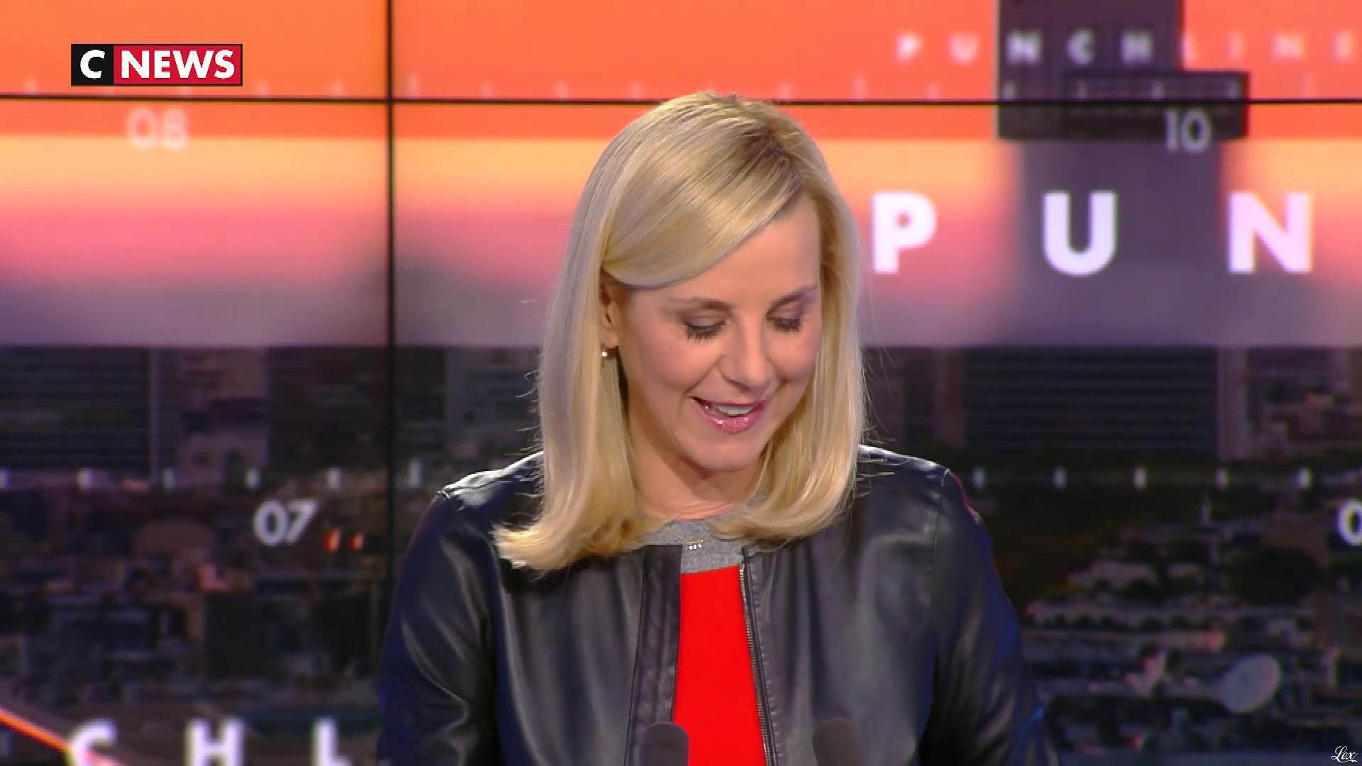 Laurence Ferrari dans Punchline. Diffusé à la télévision le 10/02/20.