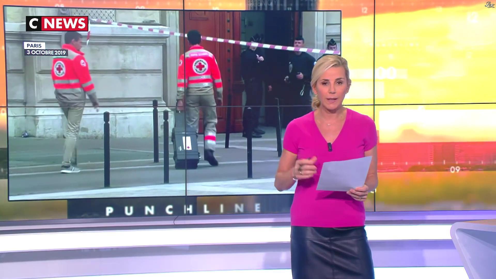 Laurence Ferrari dans Punchline. Diffusé à la télévision le 10/10/19.