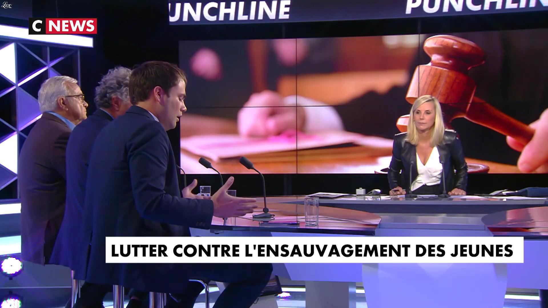 Laurence Ferrari dans Punchline. Diffusé à la télévision le 11/09/19.