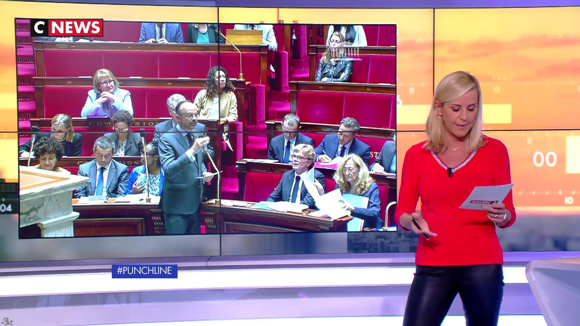Laurence Ferrari dans Punchline. Diffusé à la télévision le 24/09/19.